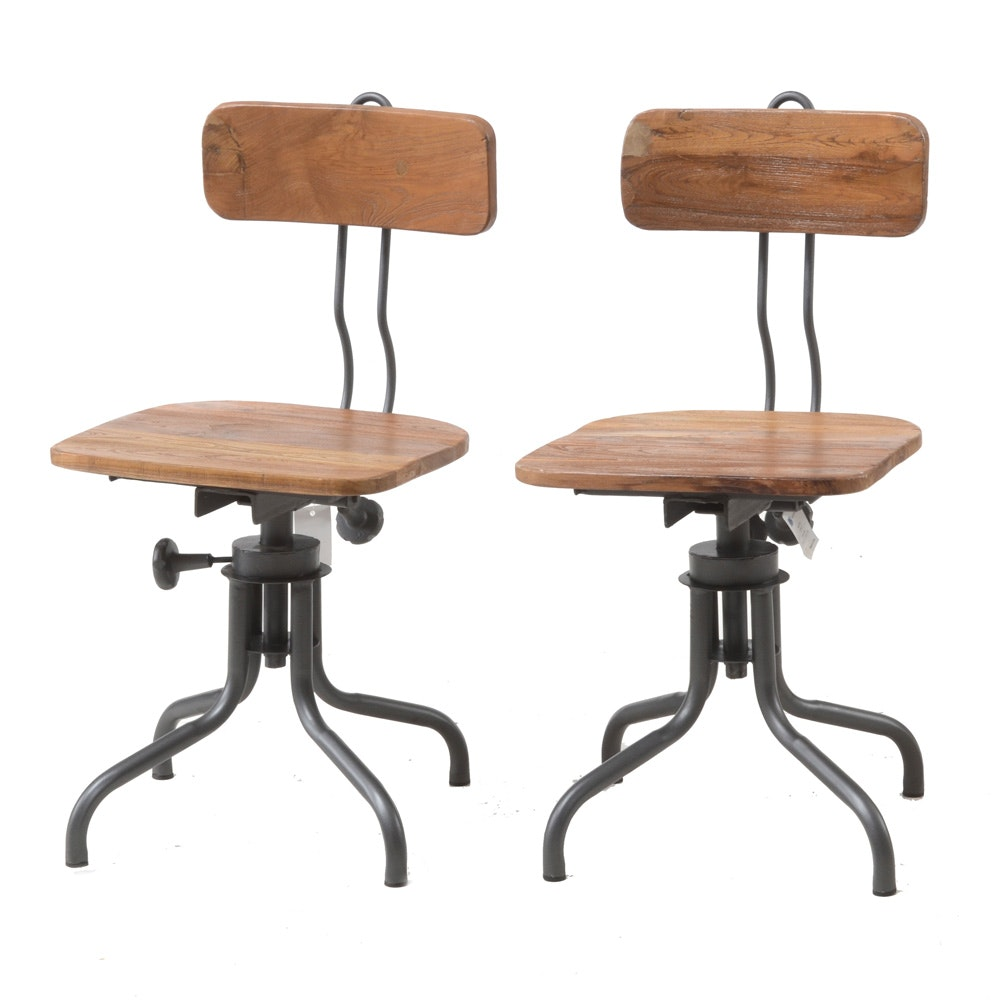 Saville Row Tailors Industrial Style Chairs