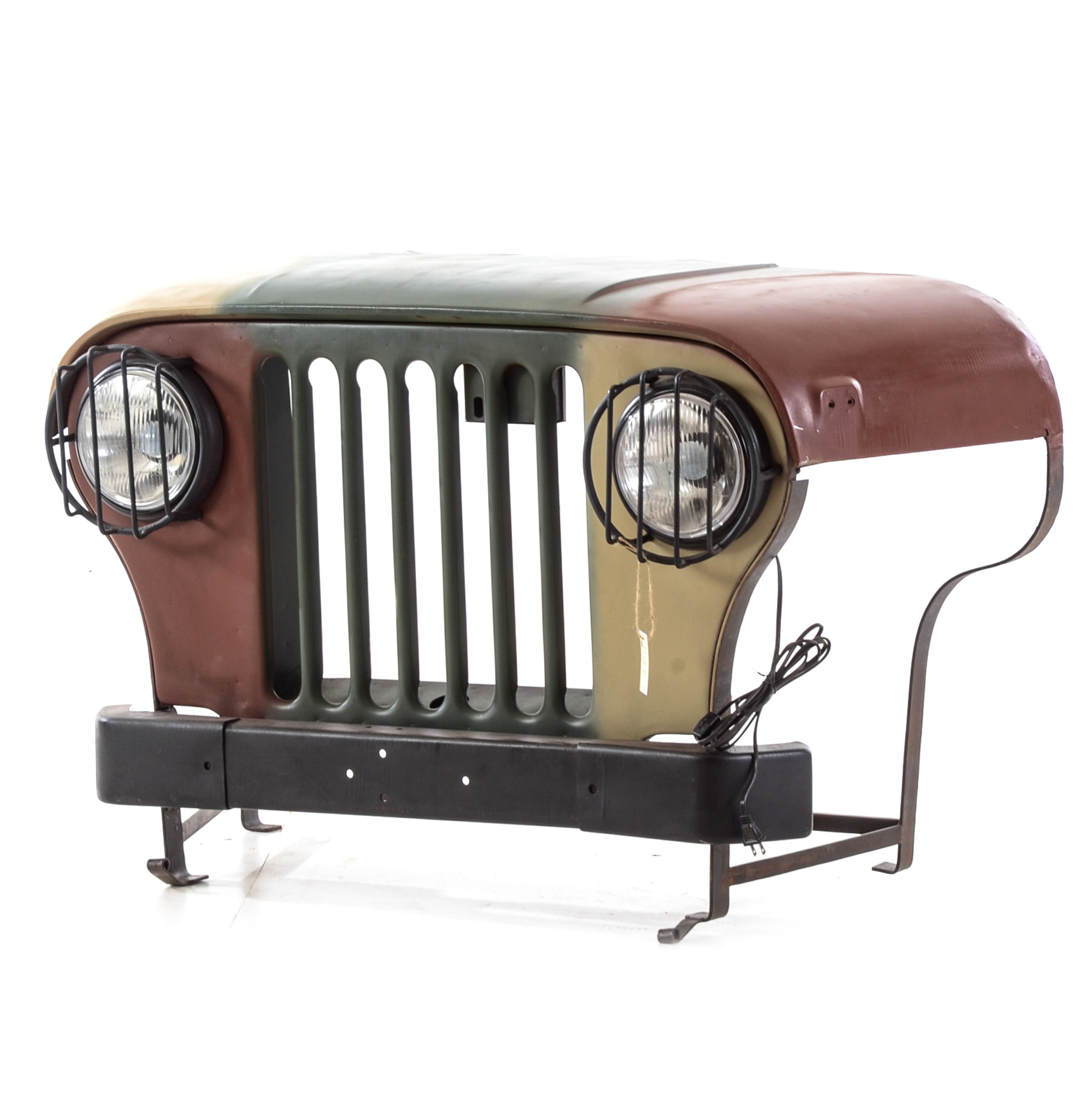 Jeep Front Console Table