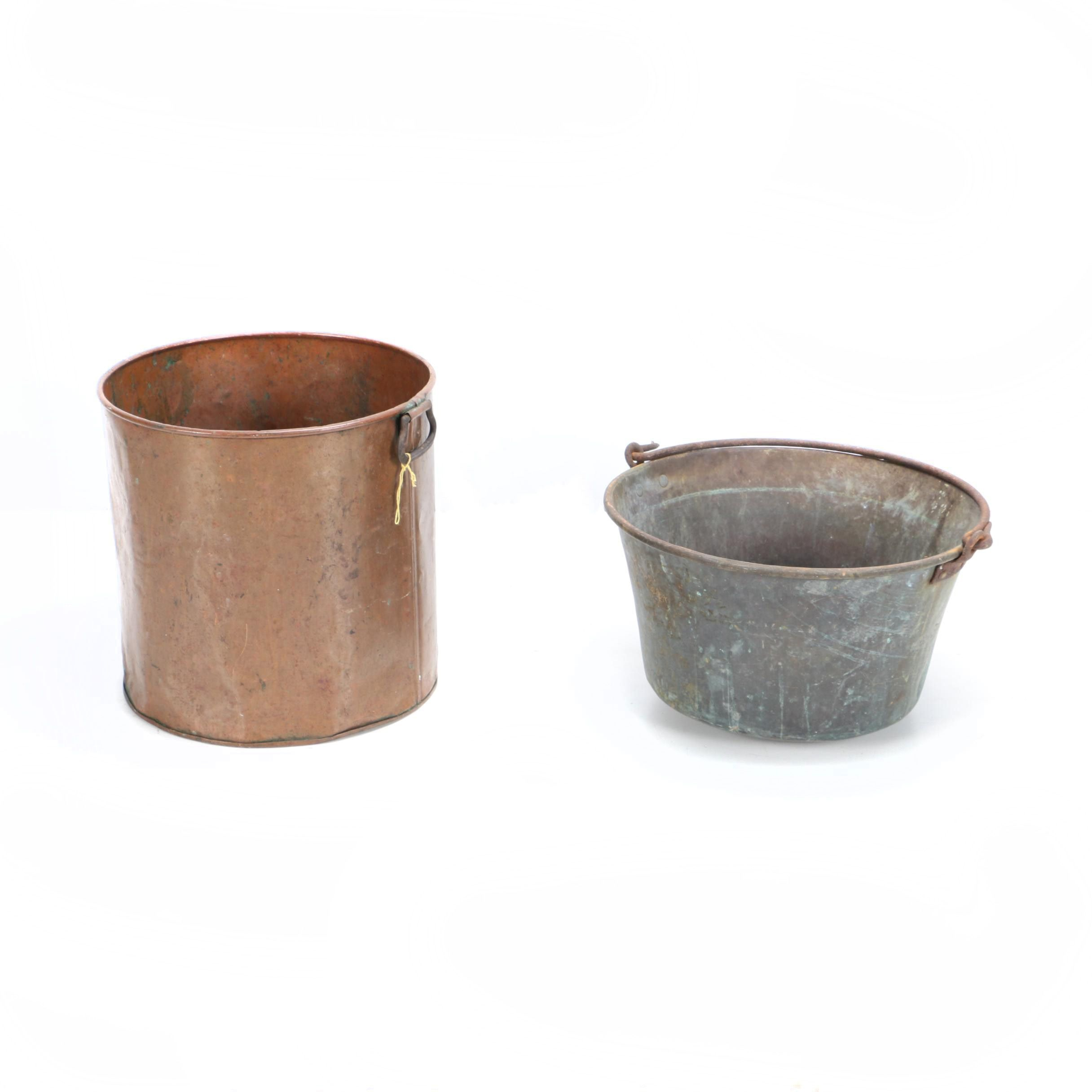 Copper and Metal Pots
