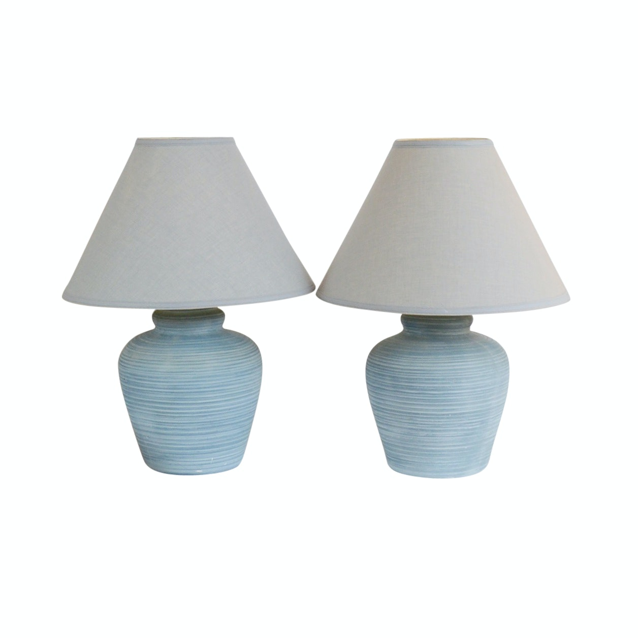 Pair of Elite '88 Ceramic Lamps