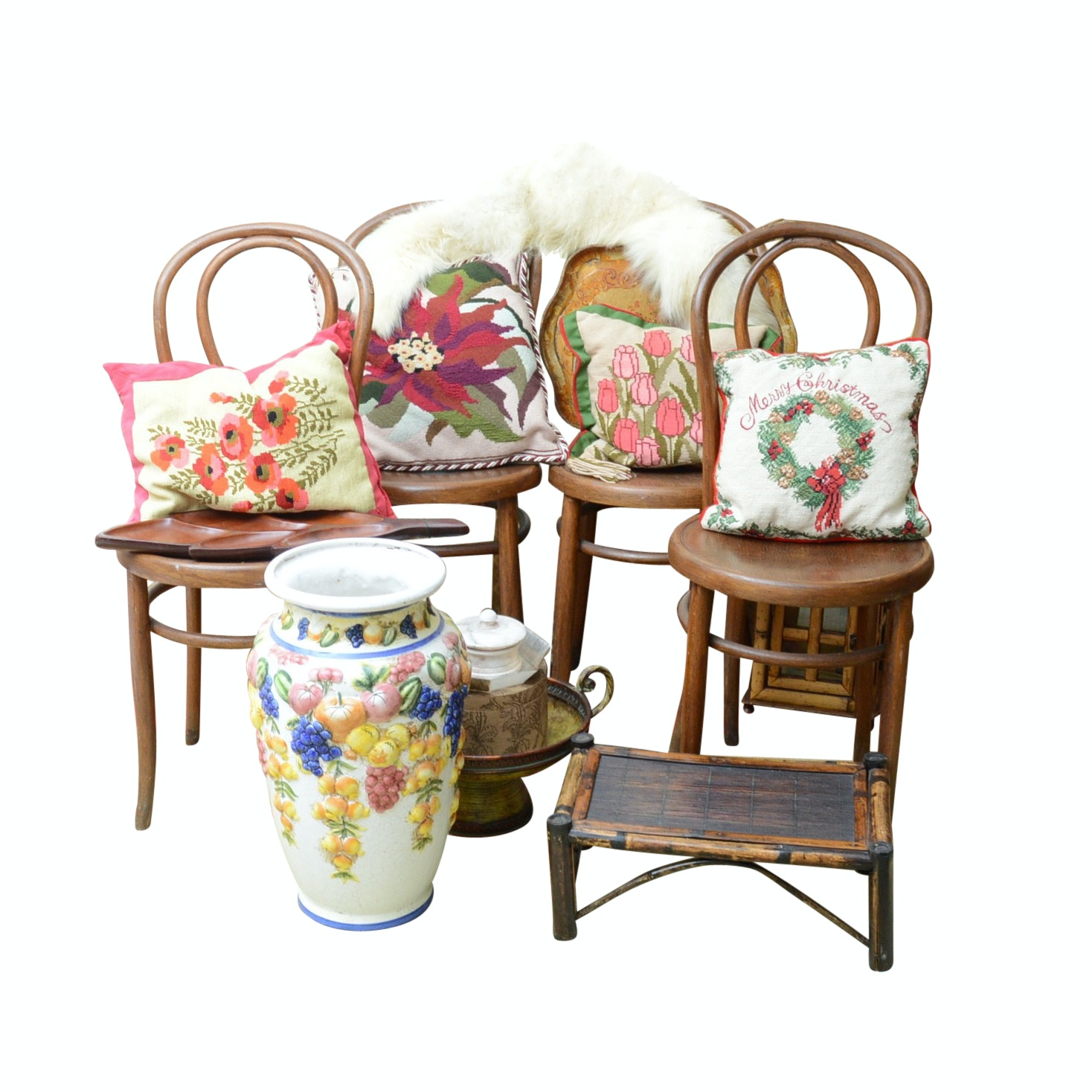 Pick Up Only Chairs and Home Decor Lot