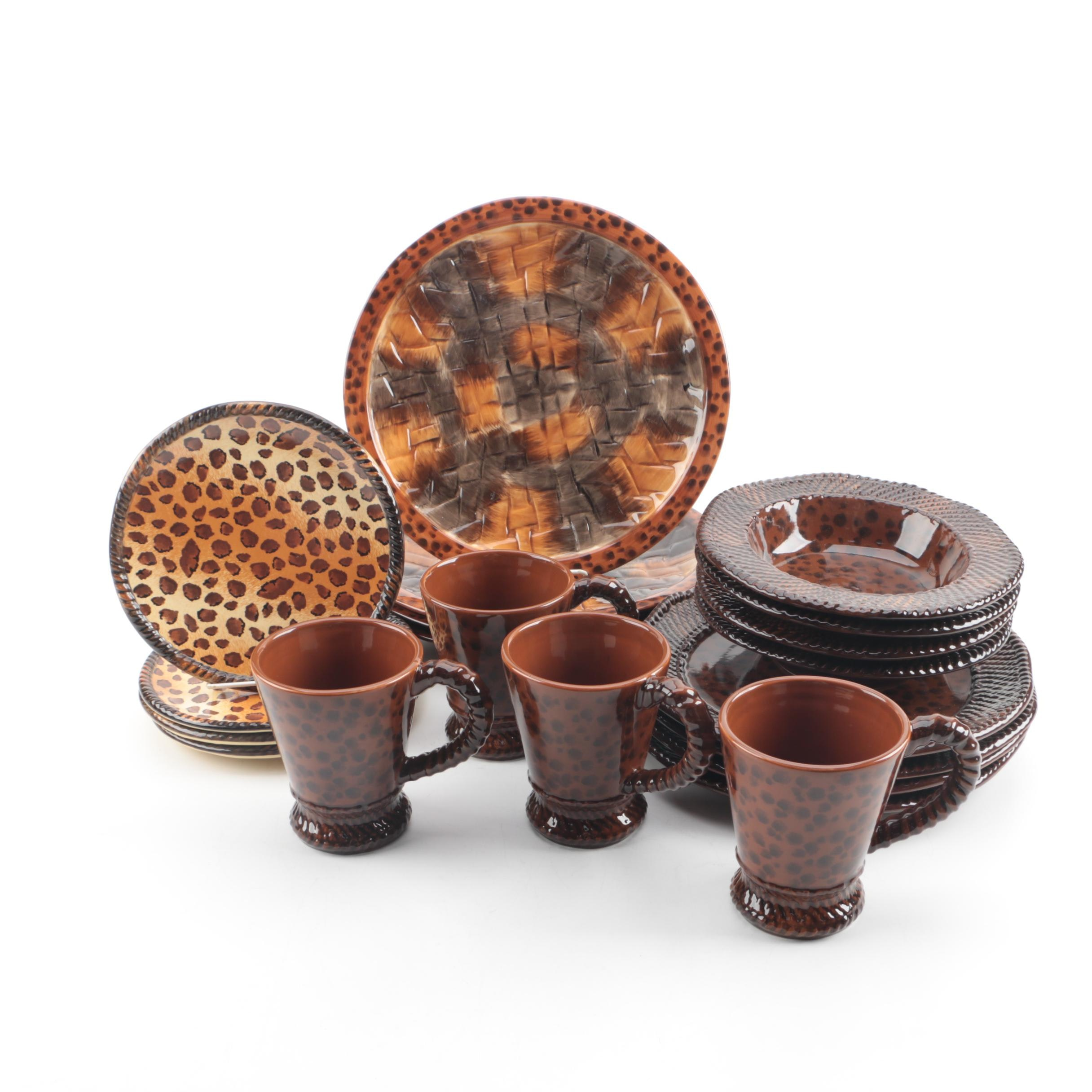 Ambiance Collections  Safari  Dinnerware ...  sc 1 st  EBTH.com & Ambiance Collections