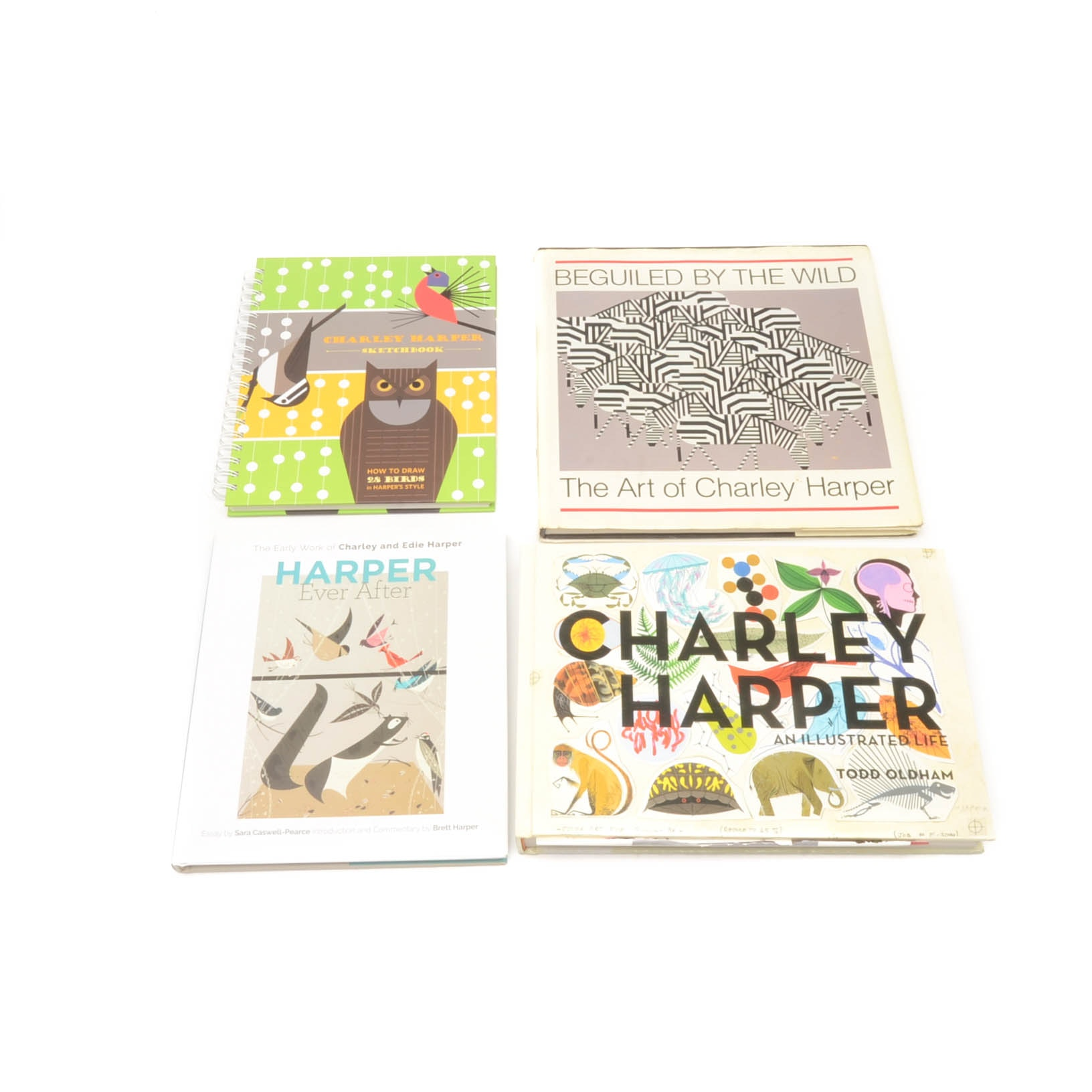 Collection of Charley Harper Books