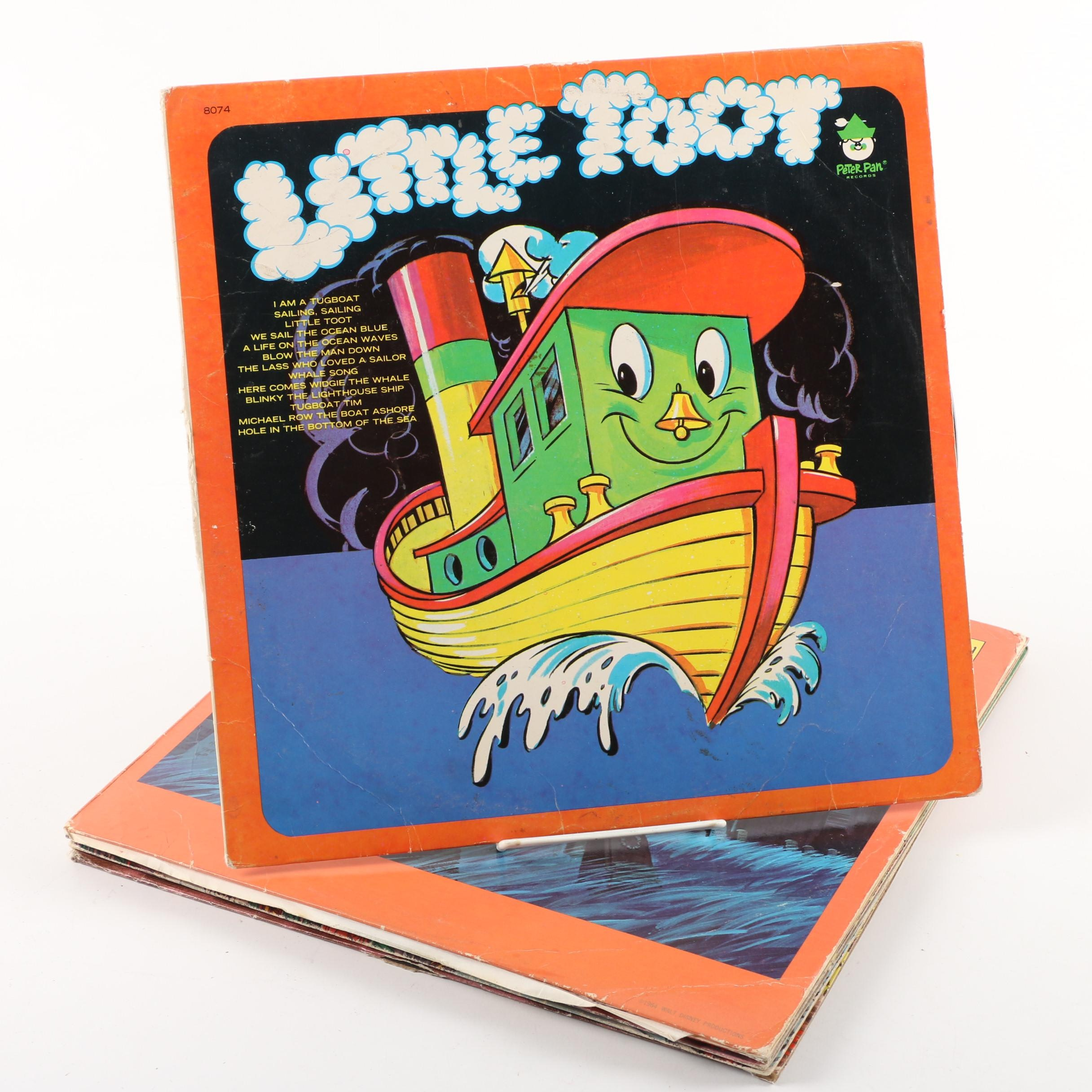 Little Toot, Monster Mash and Other Children's Records