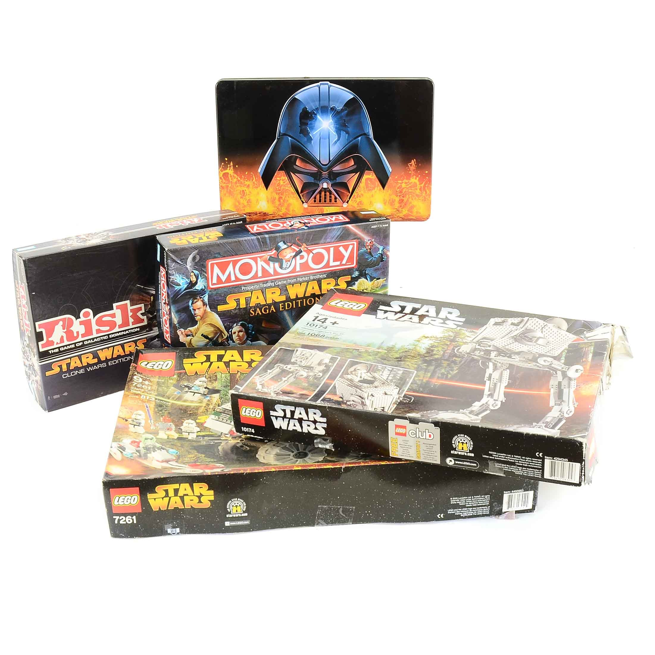 Star Wars LEGO Sets and Board Games