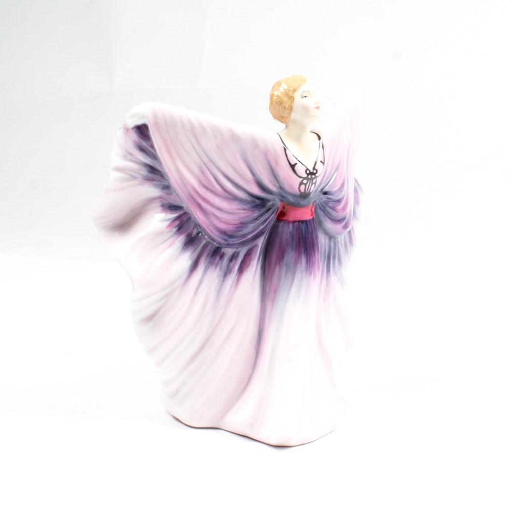 "1985 Royal Doulton ""Isadora"" HN 2938 Figurine"