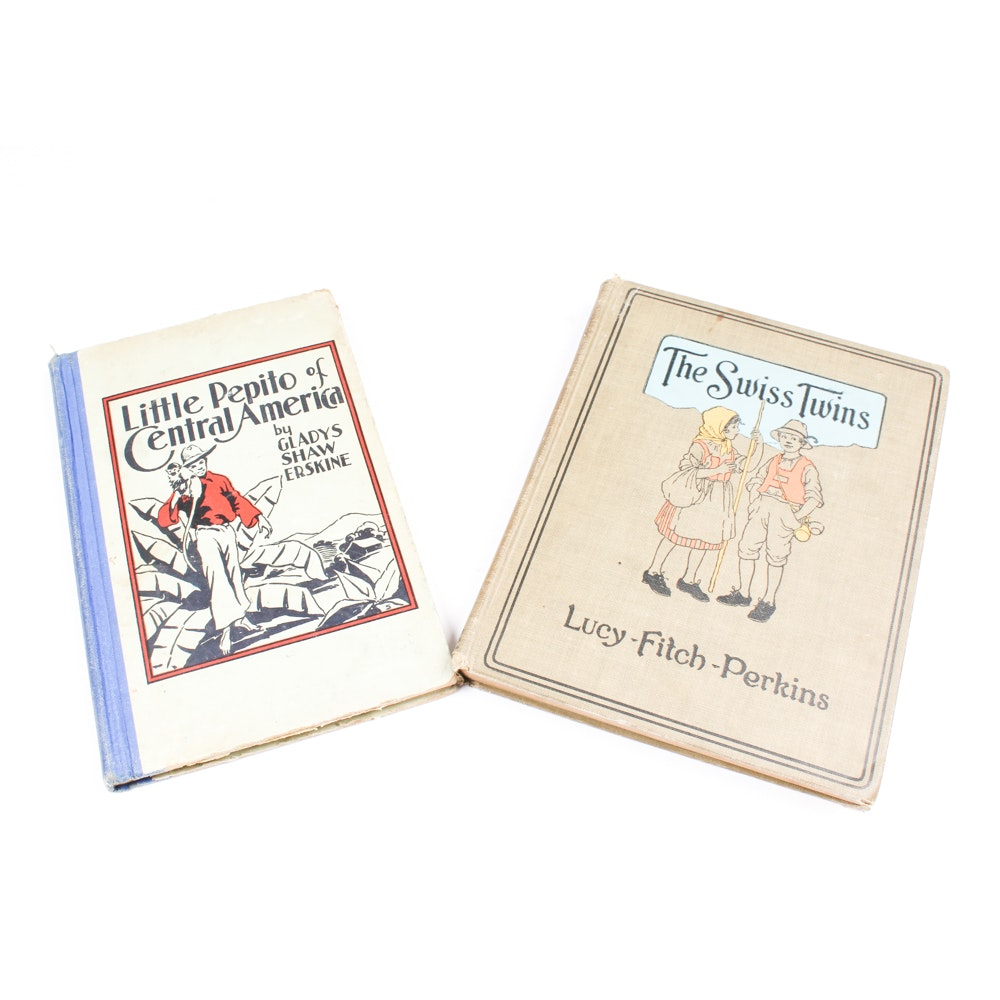 Vintage Hardcover Children's Books