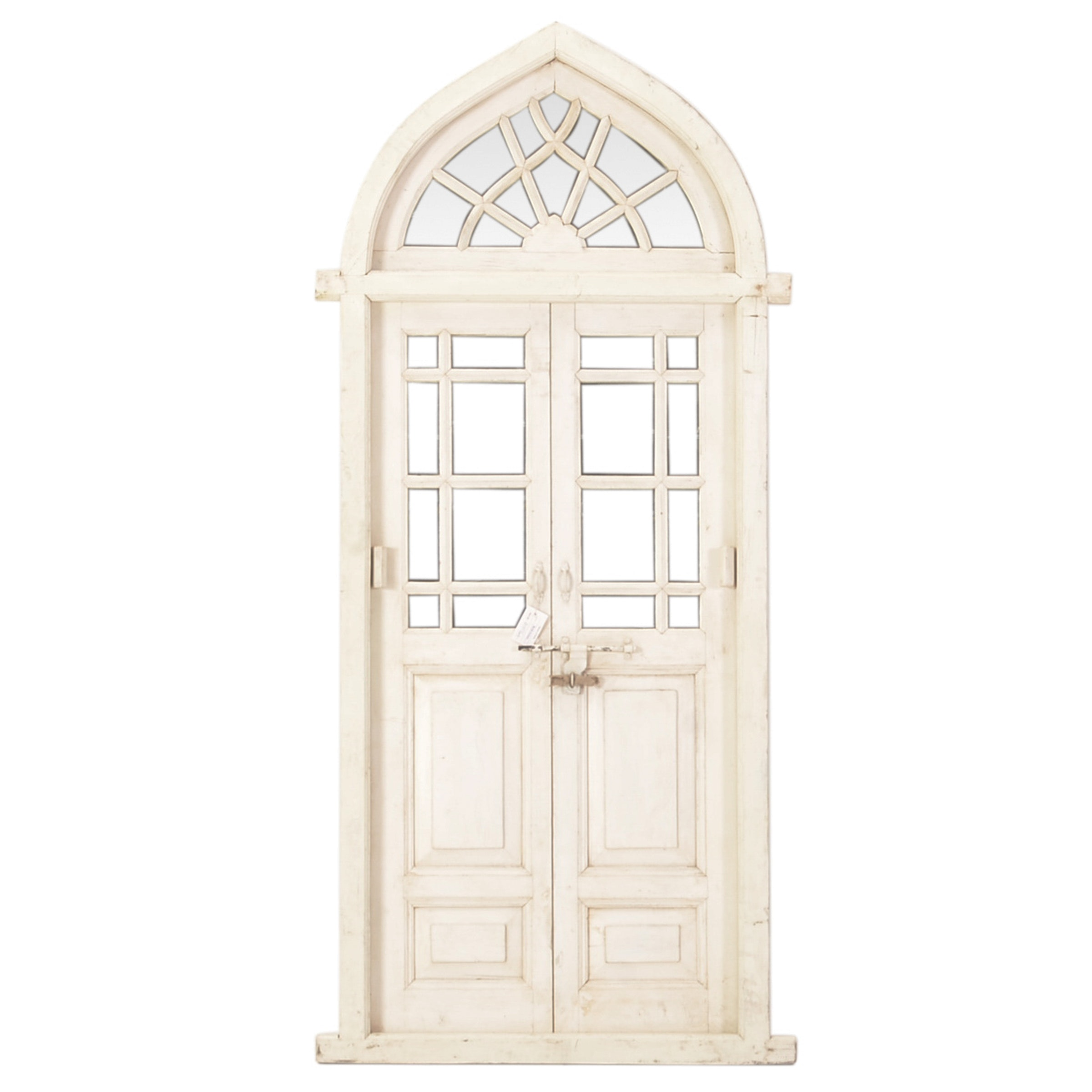 Large Decorative Arched Door