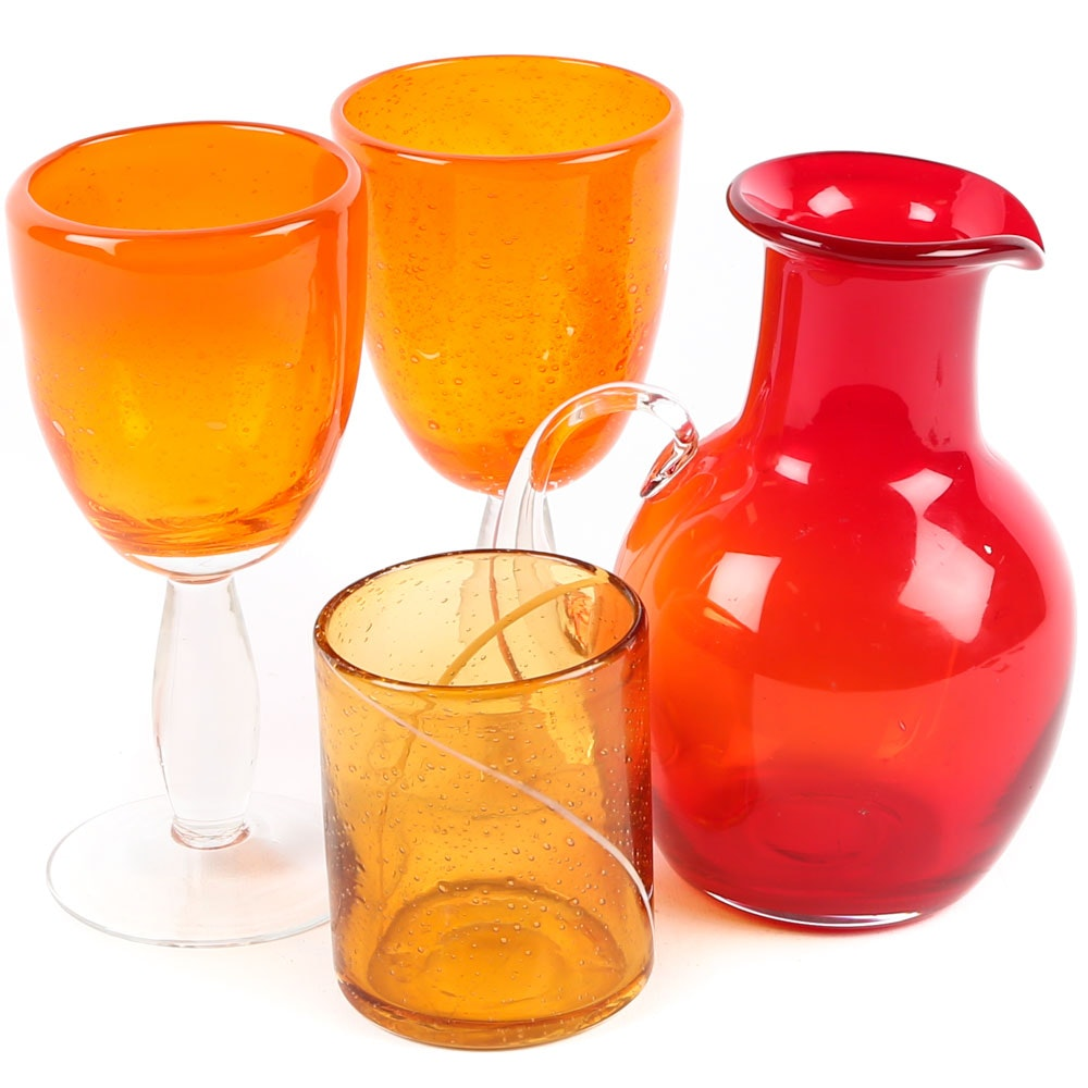 Art Glass Barware