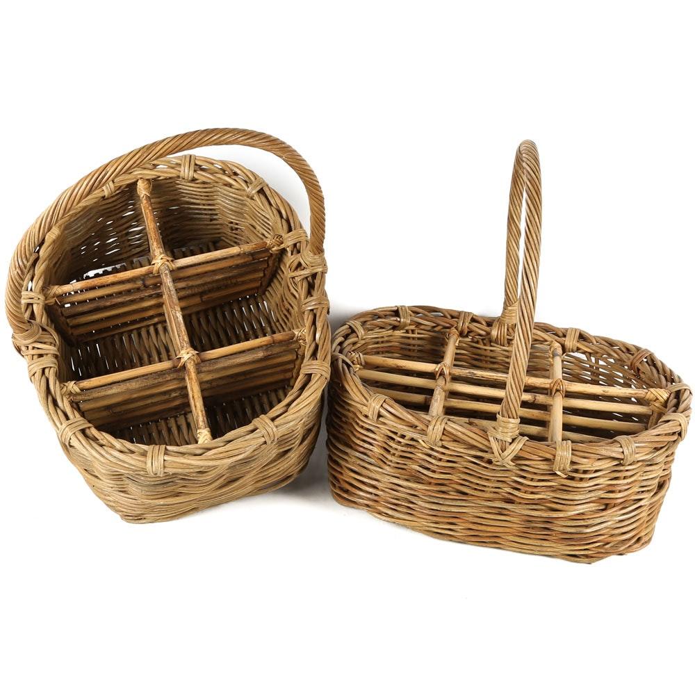 Segmented Woven Baskets