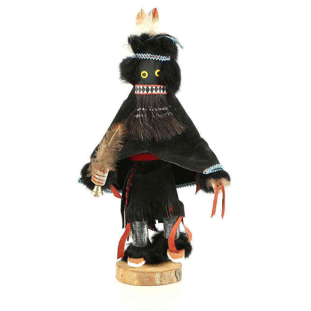 "Bakabi Hopi Inspired Kachina Doll ""Warrior Woman"""