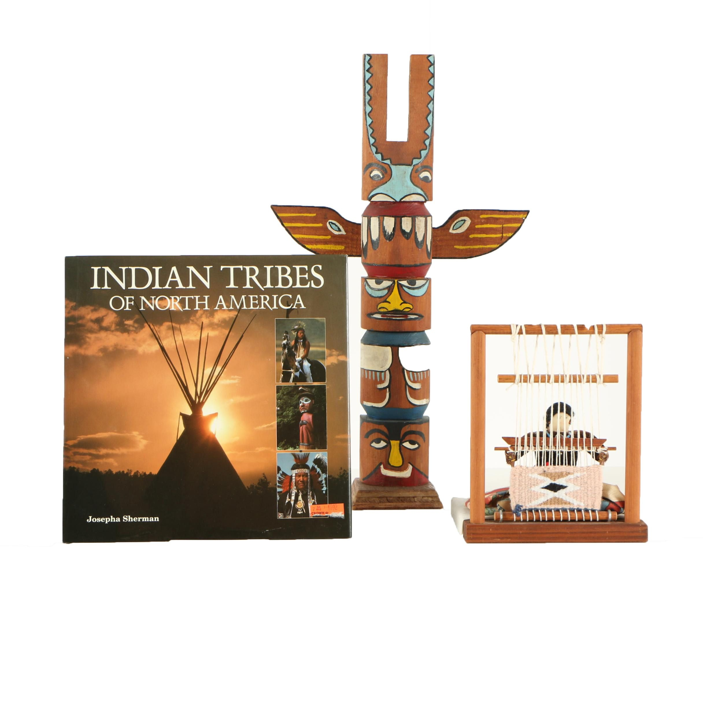 """Indian Tribes of North America"" and Native American Inspired Sculptures"