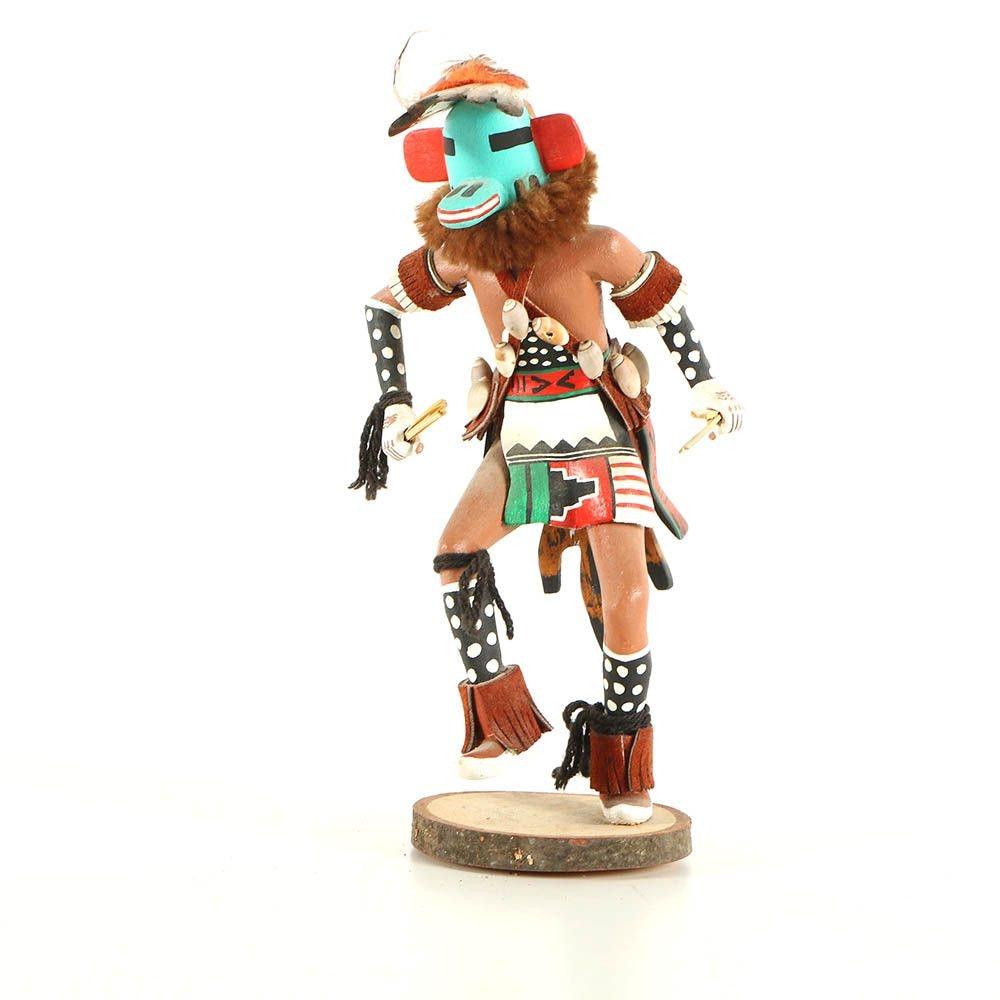 Julius Nahson Qaletaqa Style Kachina Doll