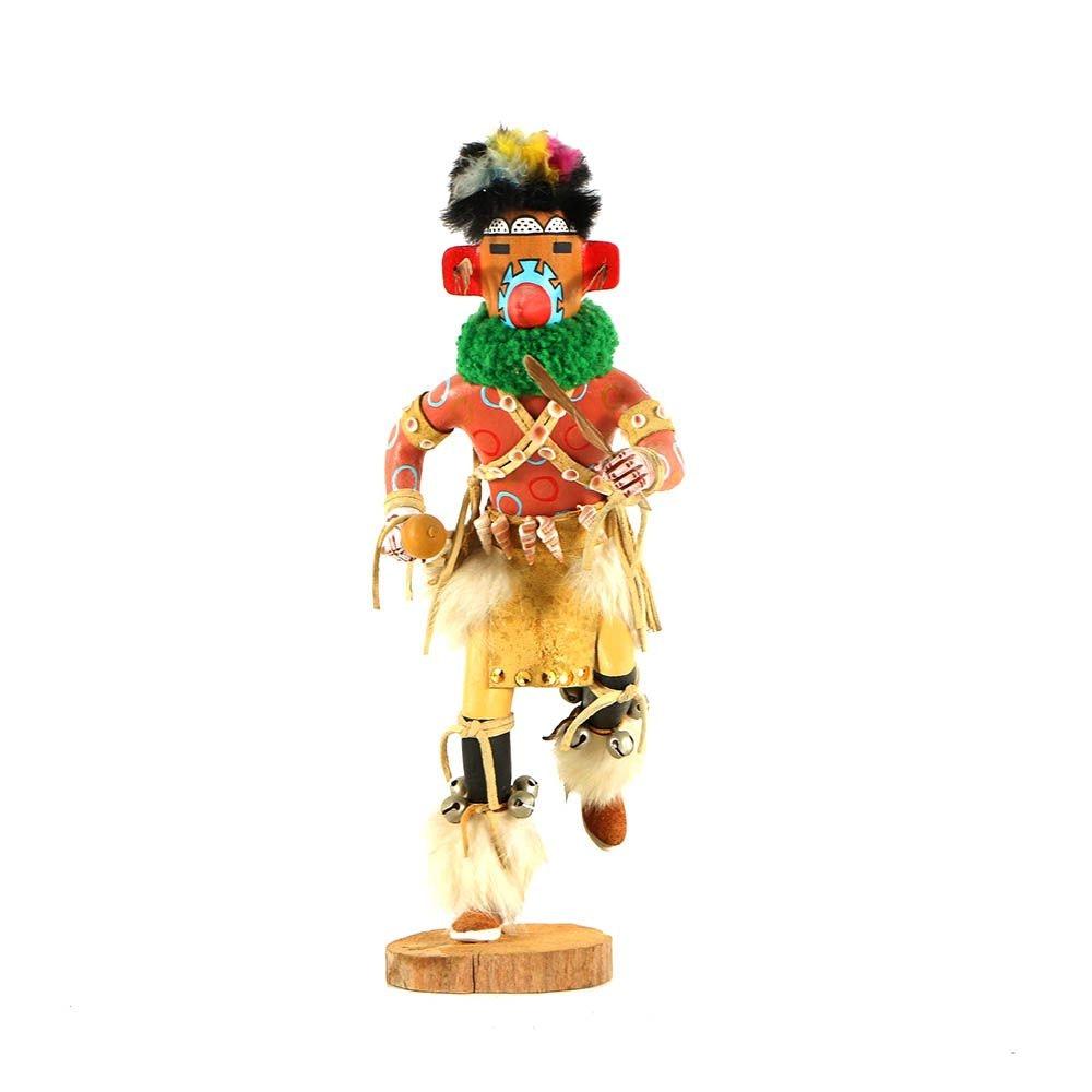 """D. M. Nelson Kachina Doll """"Spotted Corn Kachina"""""""