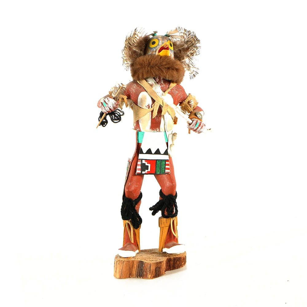 F. Sulu Hopi Owl Kachina Doll