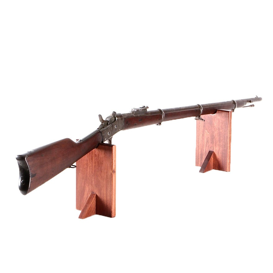 "Remington Rolling Block ""Patria"" Modelo Argentino 1879  Rifle in .43 Spanish"