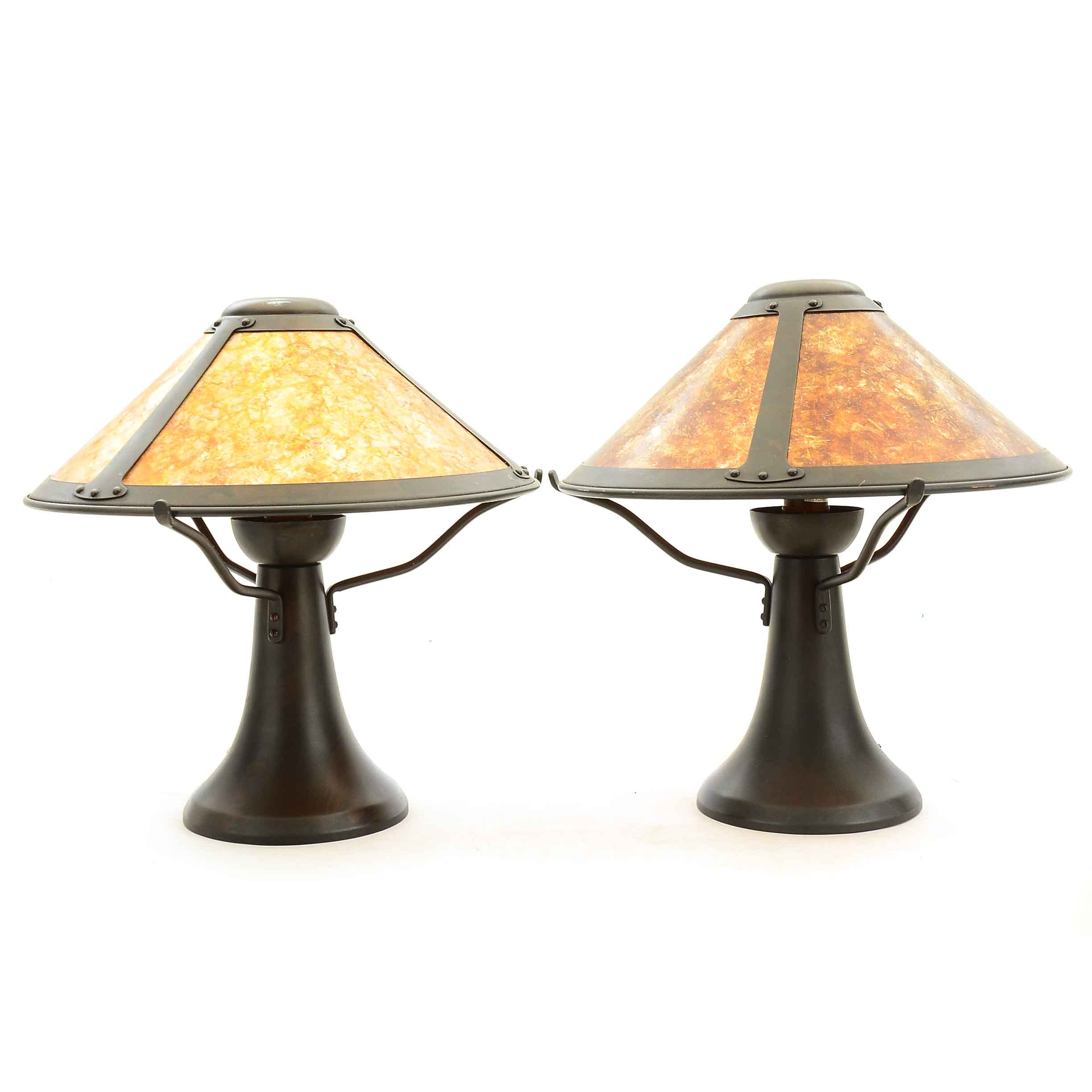 Arts and Crafts-Style Table Lamps