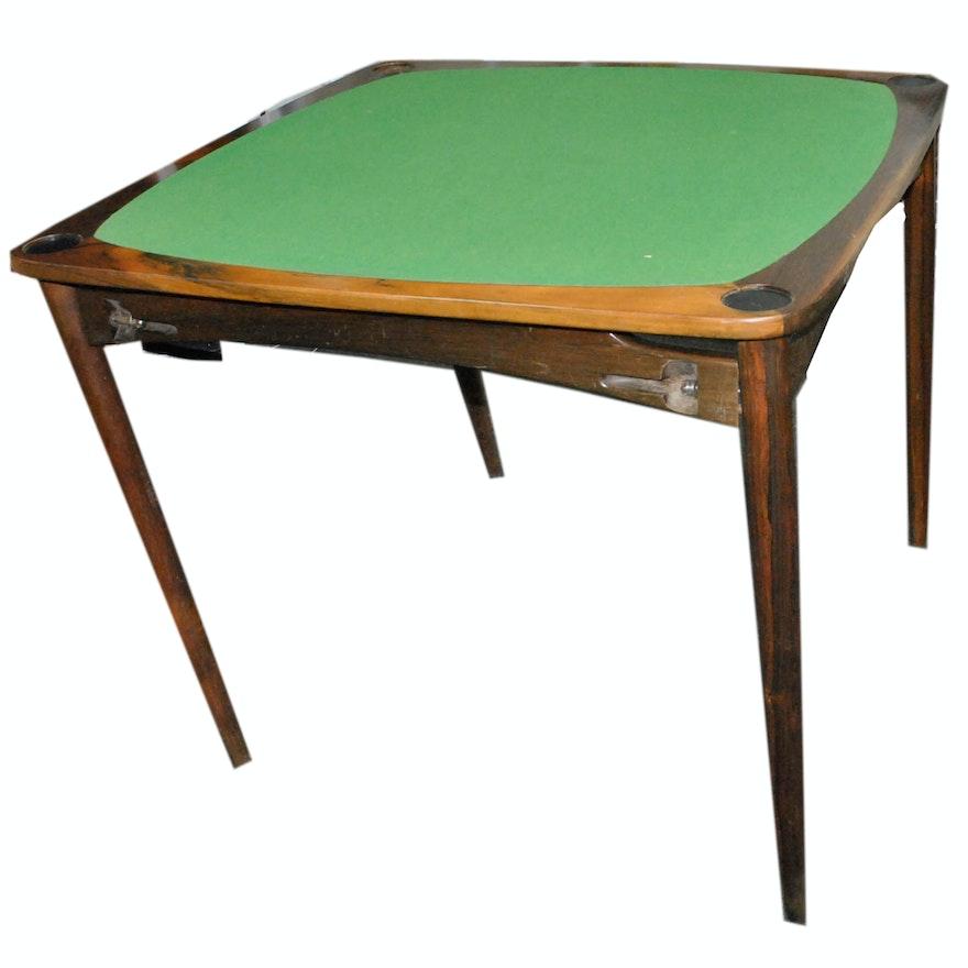 Felt Top Folding Table
