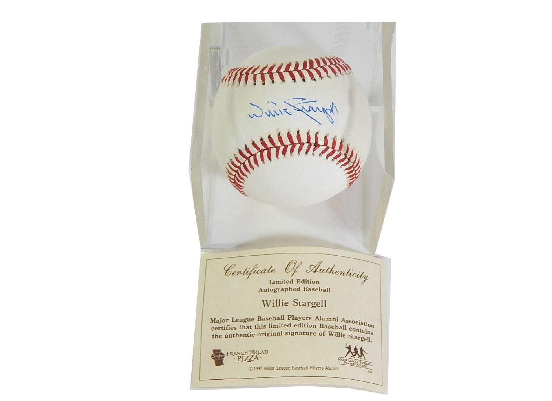 HOF Willie Stargell Signed Baseball with COA