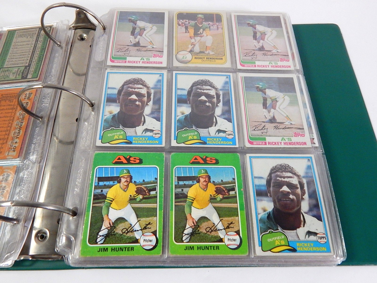 Baseball Star Card Album from 1970s and 1980s