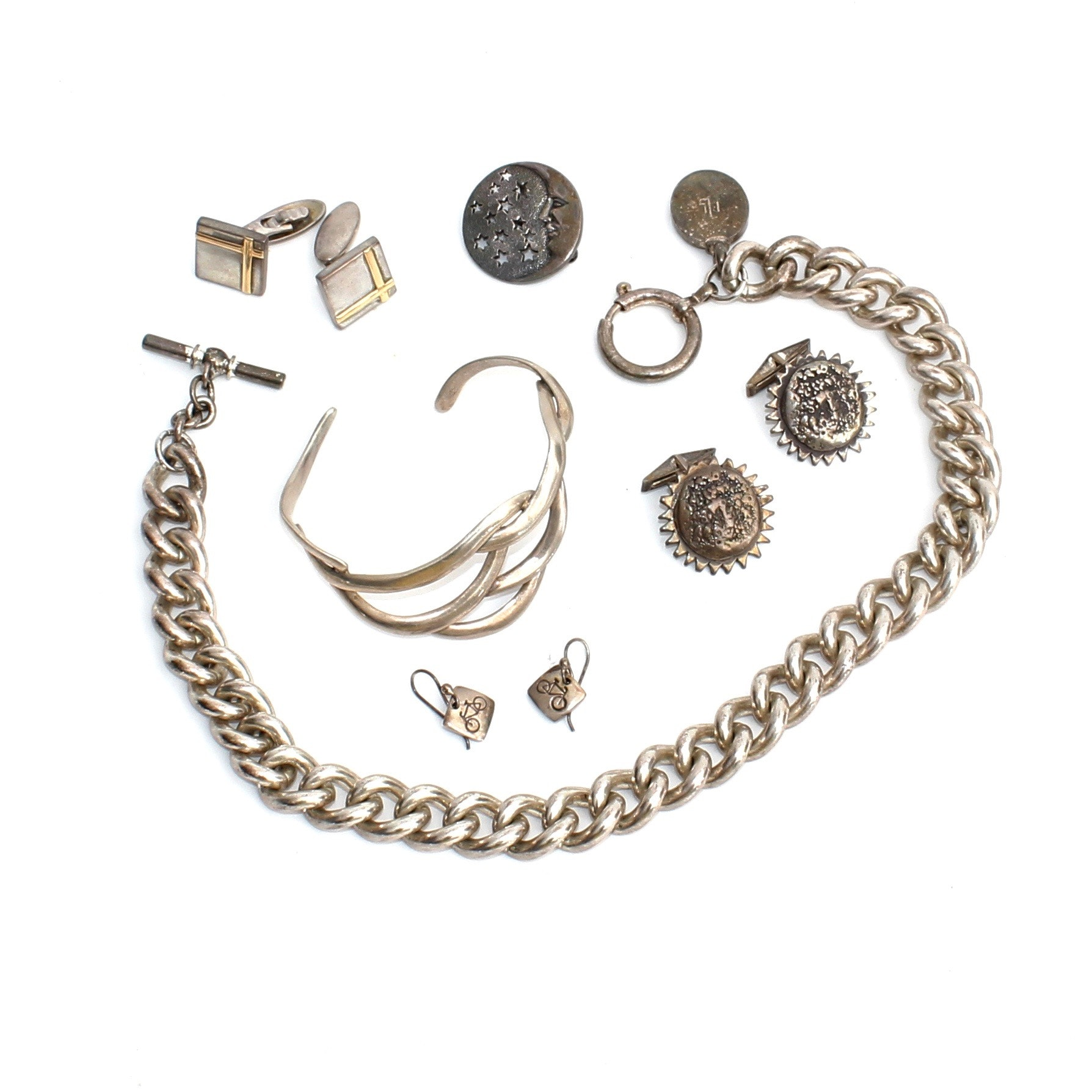 Sterling Silver and Other Assorted Jewelry