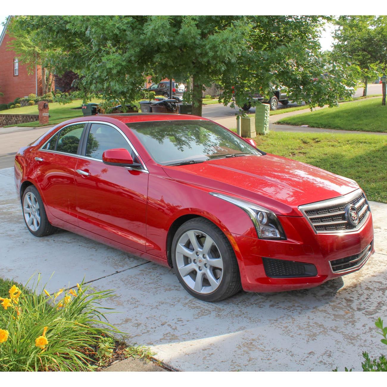 2013 Red Cadillac ATS 2.0T