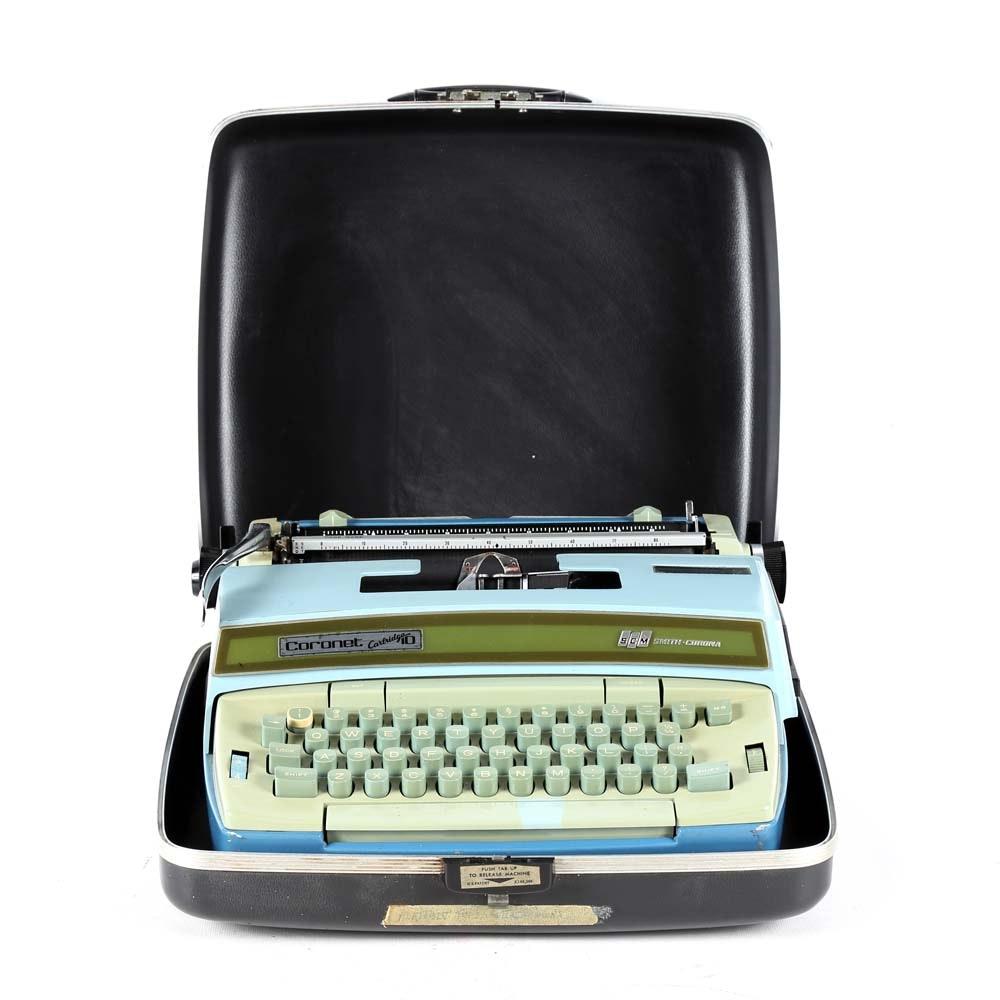 Vintage Smith-Corona Coronet Cartridge 10 Electric Typewriter