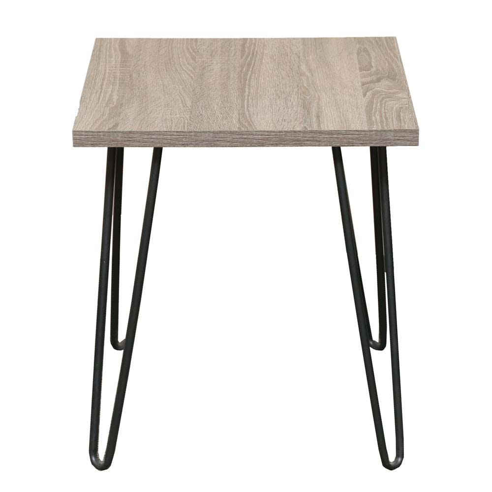 Contemporary Hairpin Leg Accent Table