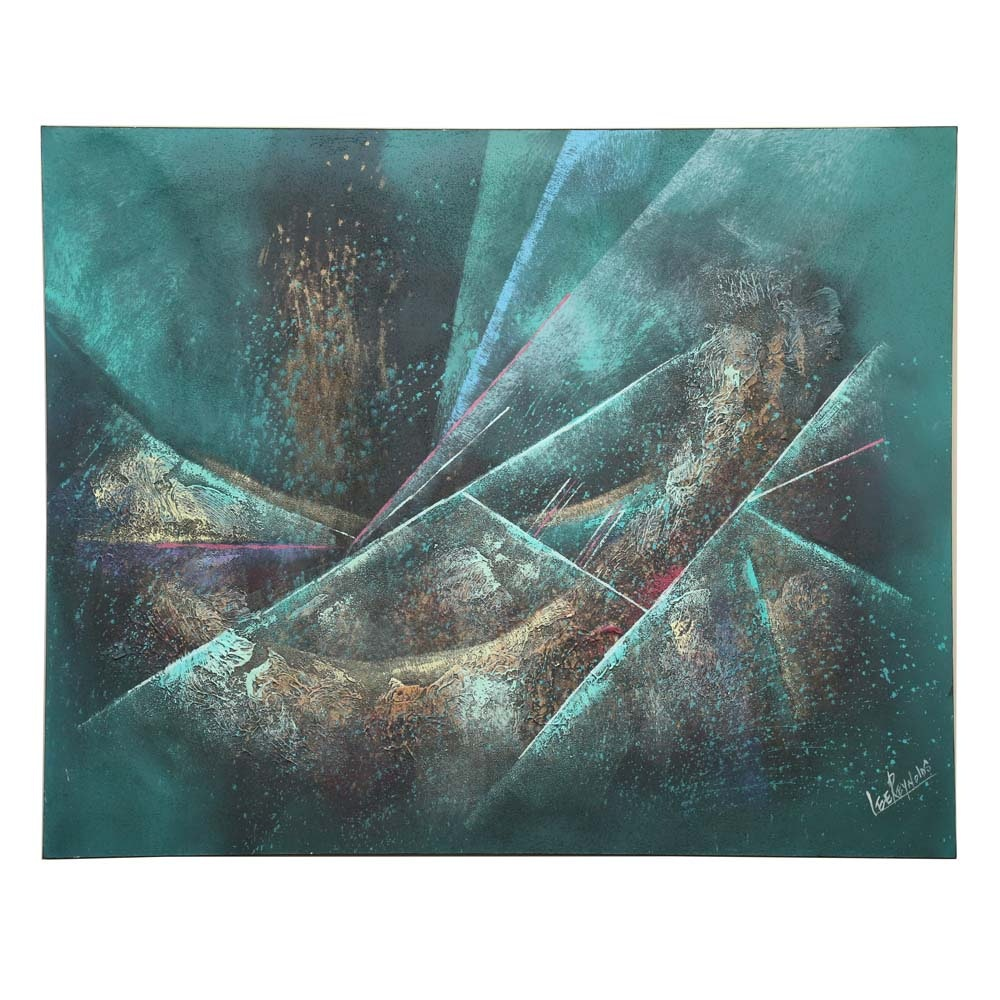 Lee Reynolds Contemporary Abstract Acrylic Painting