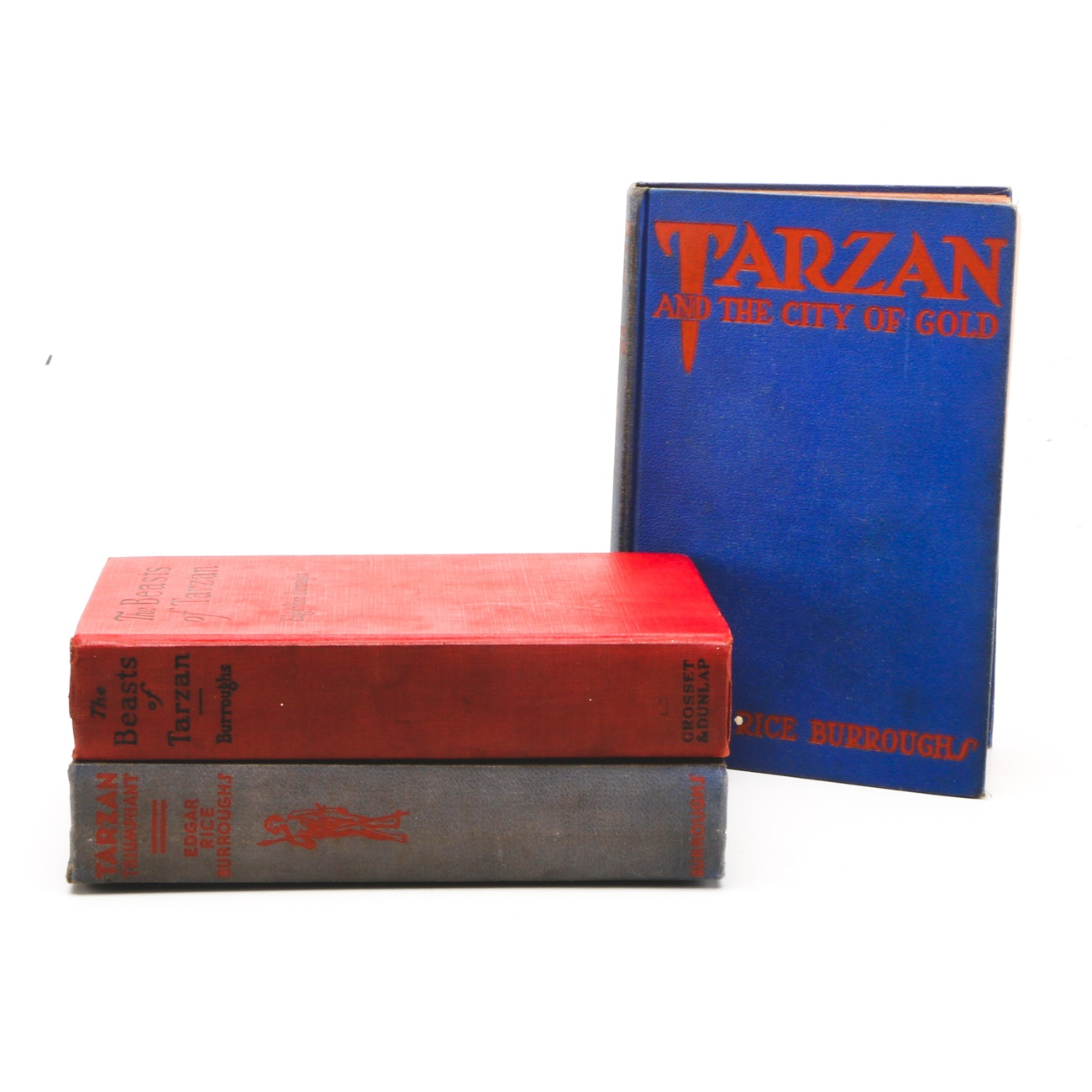"1933 First Edition ""Tarzan and the City of Gold"" and Other ""Tarzan"" Books"