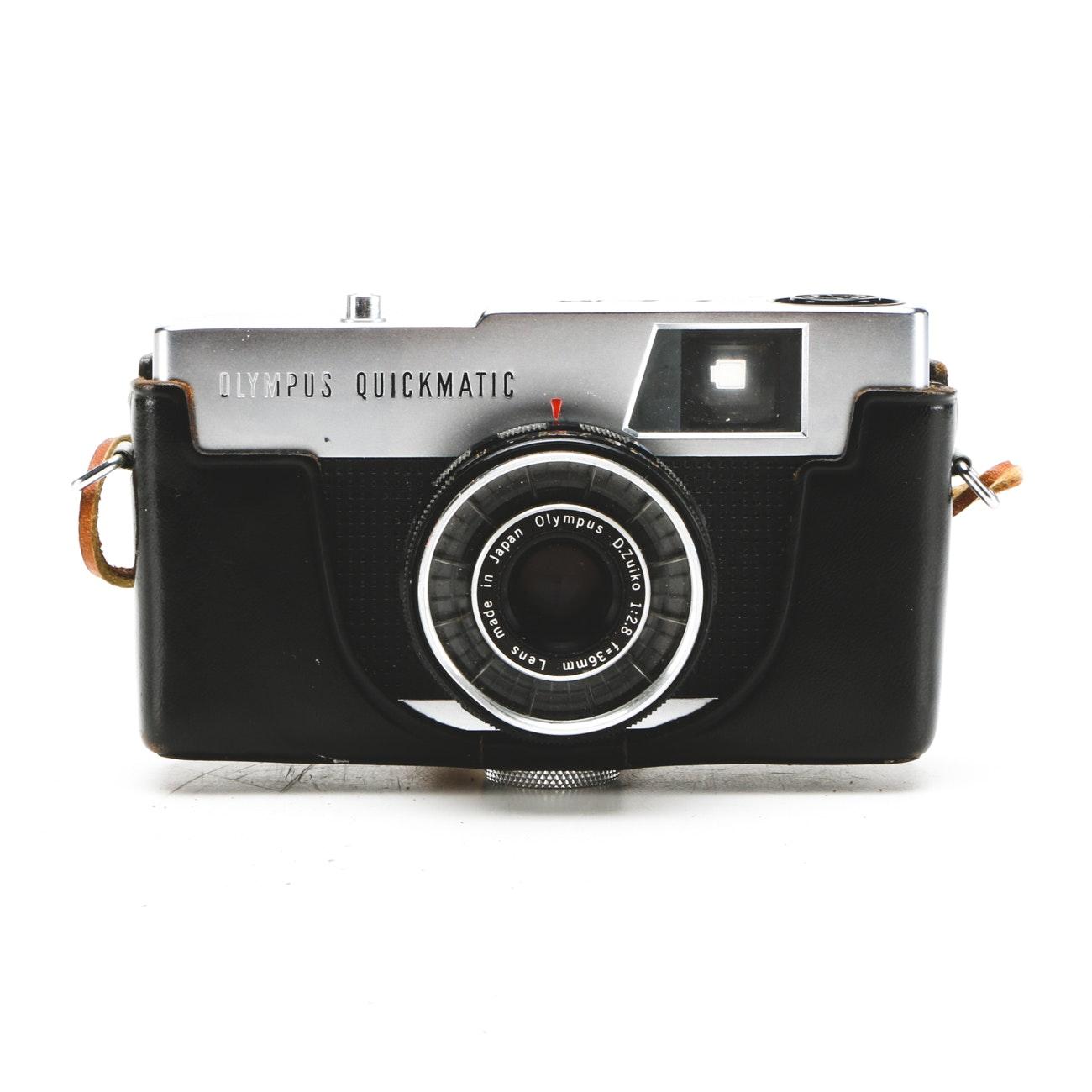 Vintage Olympus Quickmatic Camera