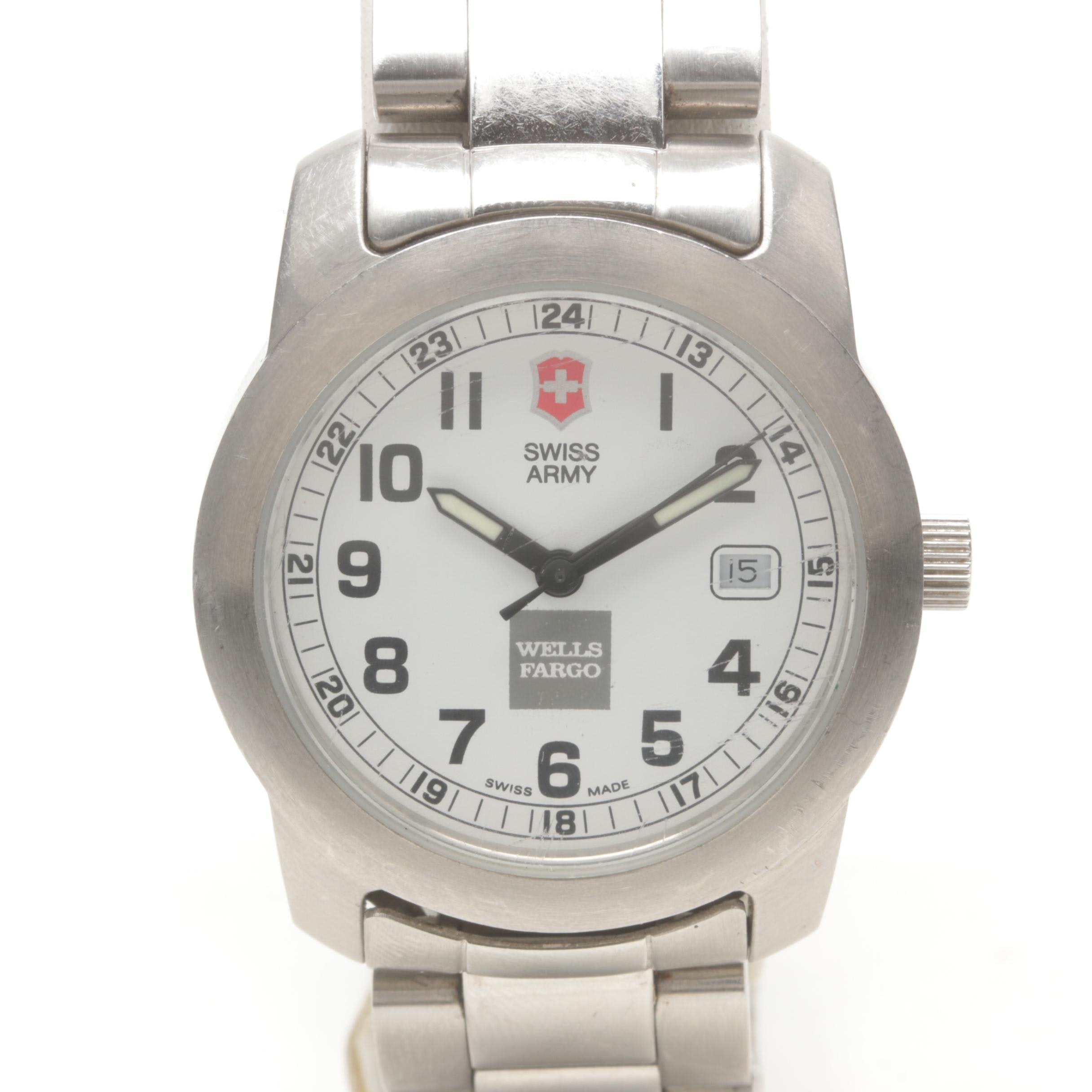 Swiss Army Stainless Steel Wristwatch