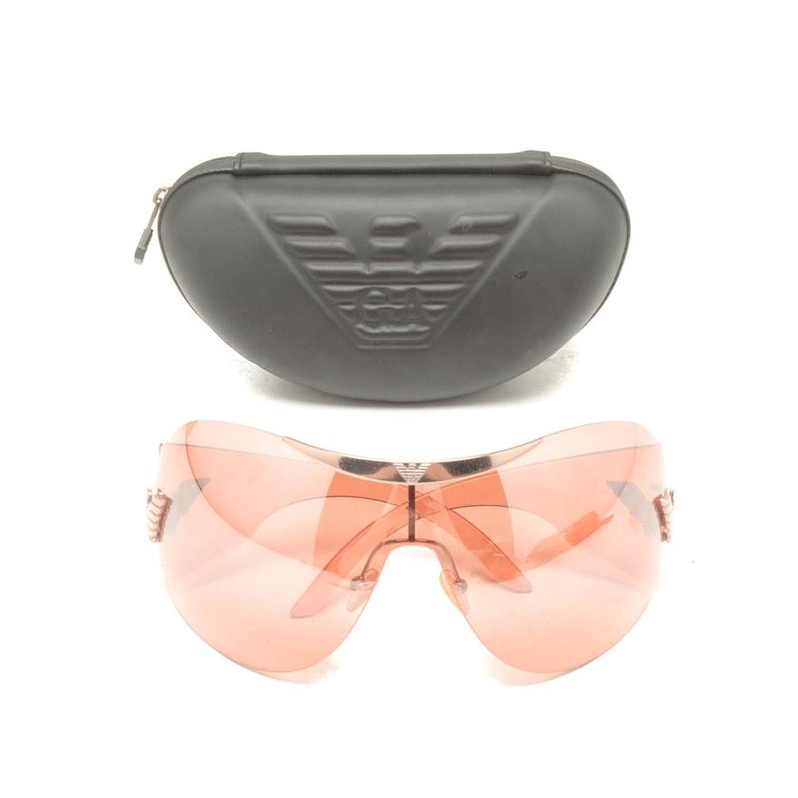 eae3ae45255 Emporio Armani Shield Sunglasses   EBTH