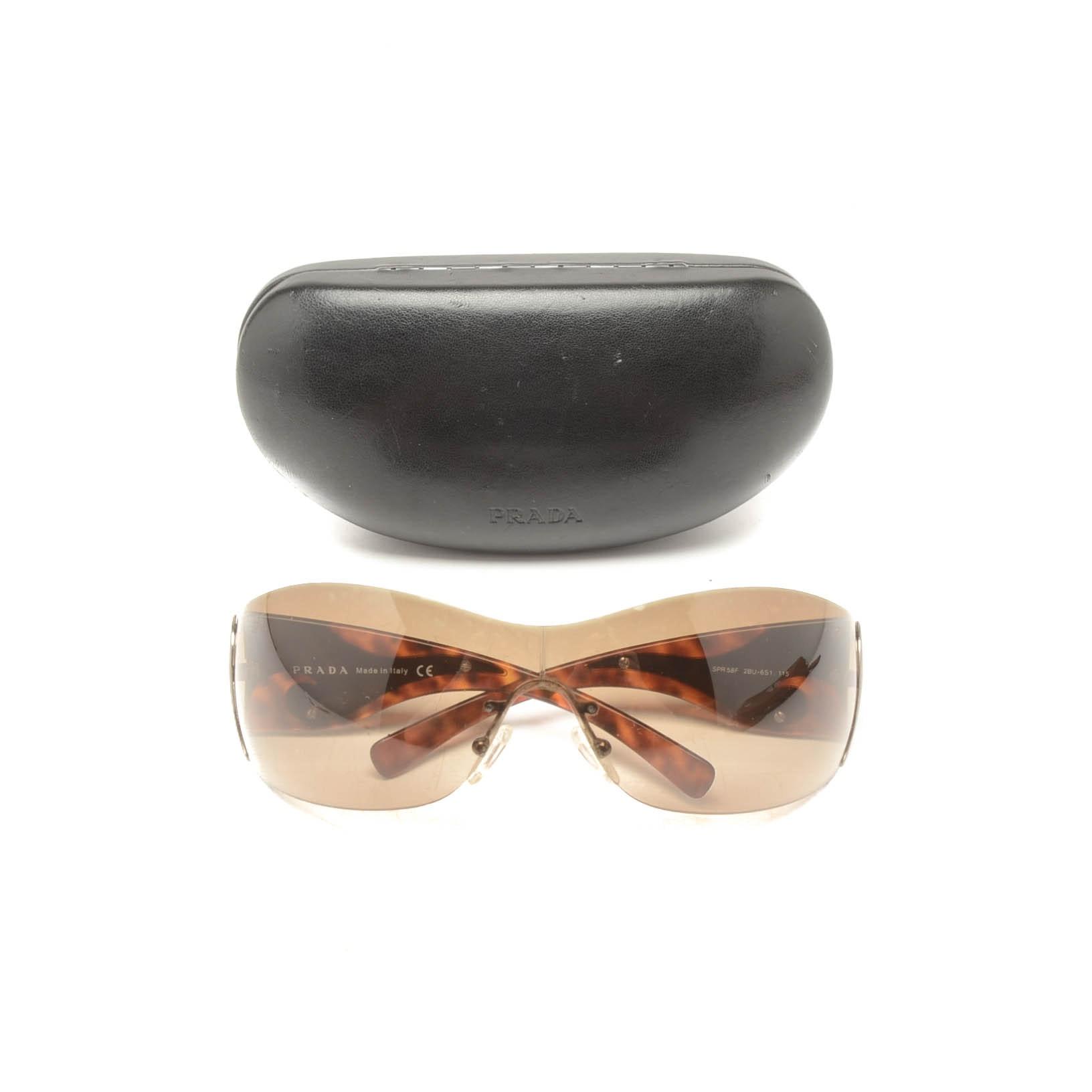 Prada Wrap Sunglasses