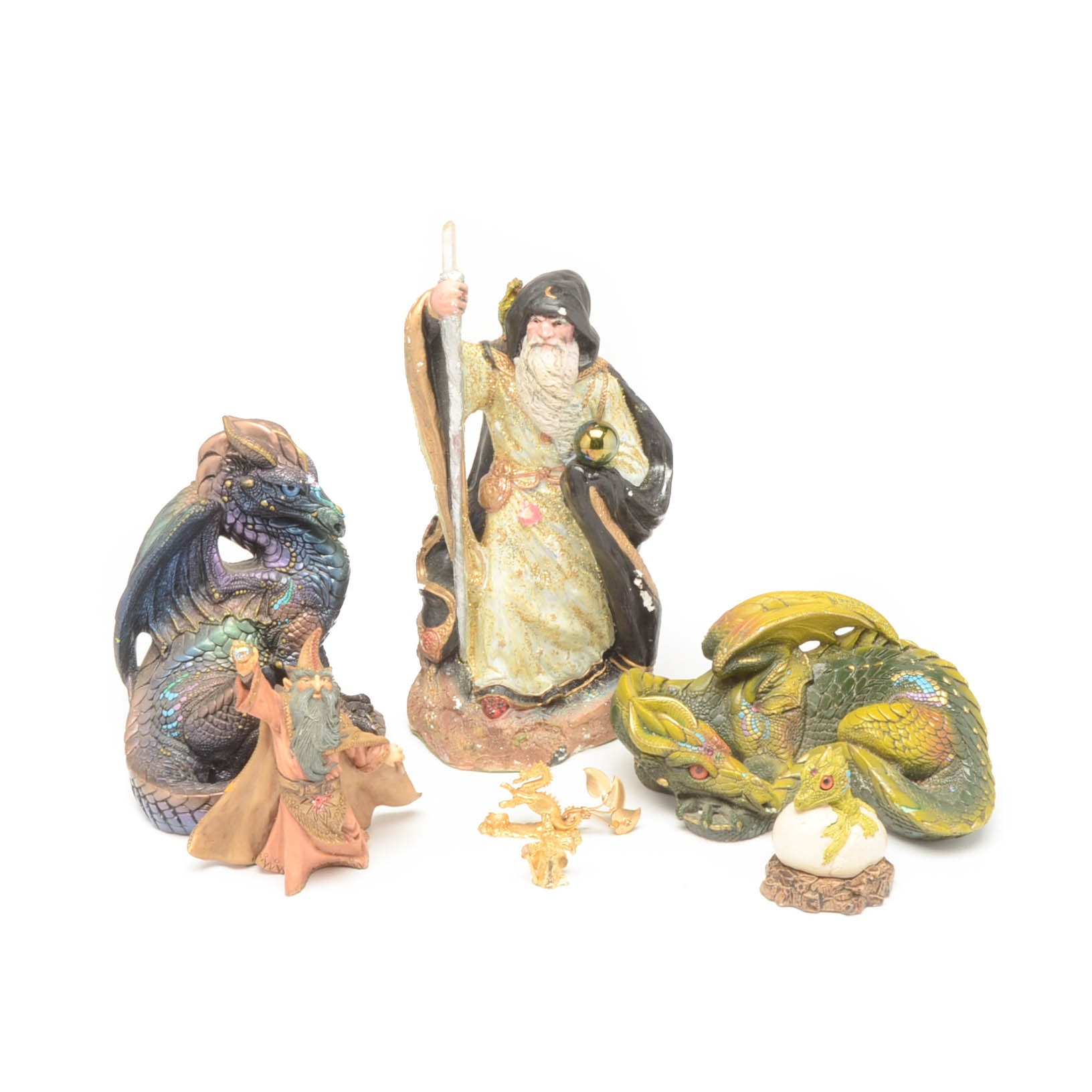 Collection of Fantasy Figurines