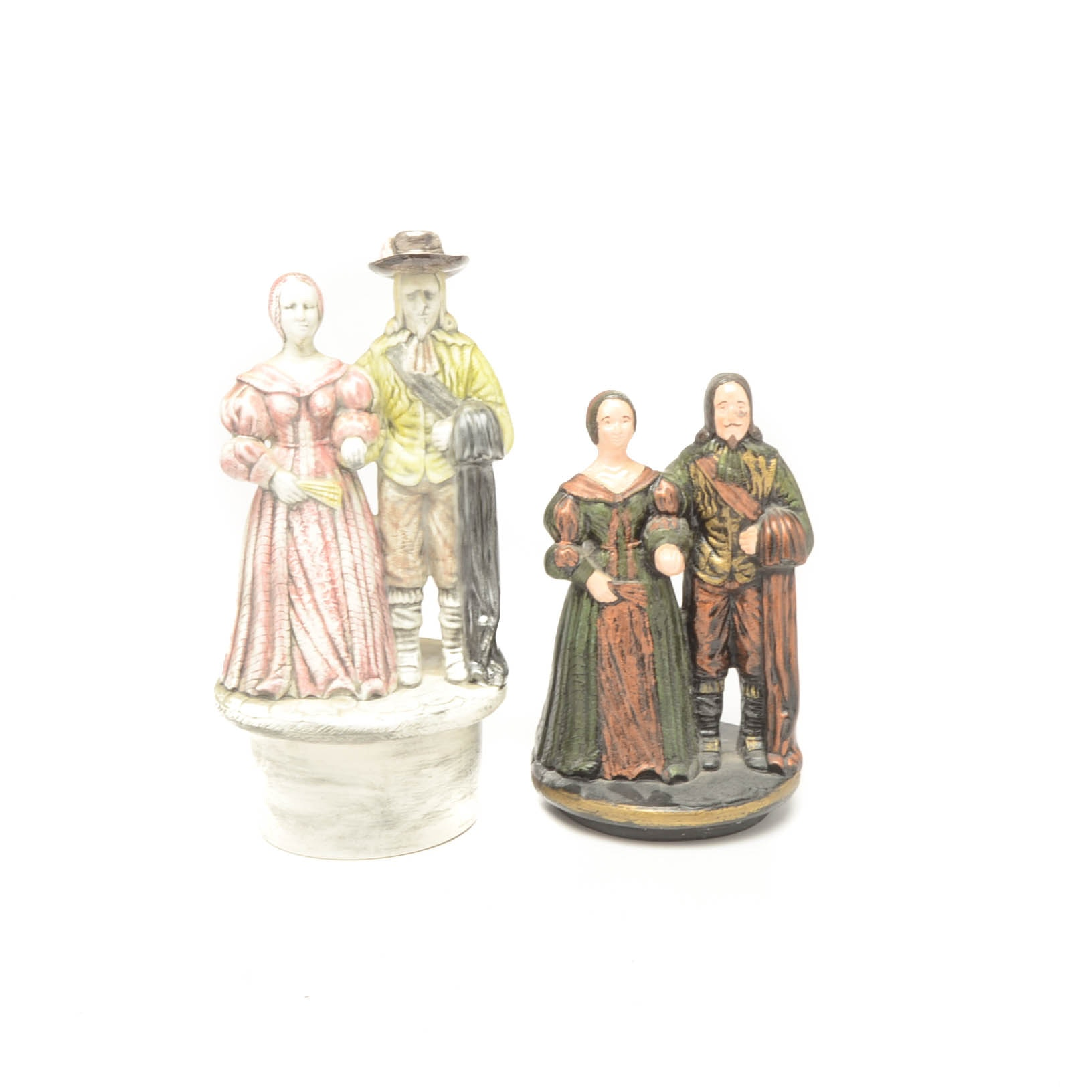 Pair of Ceramic Figurines