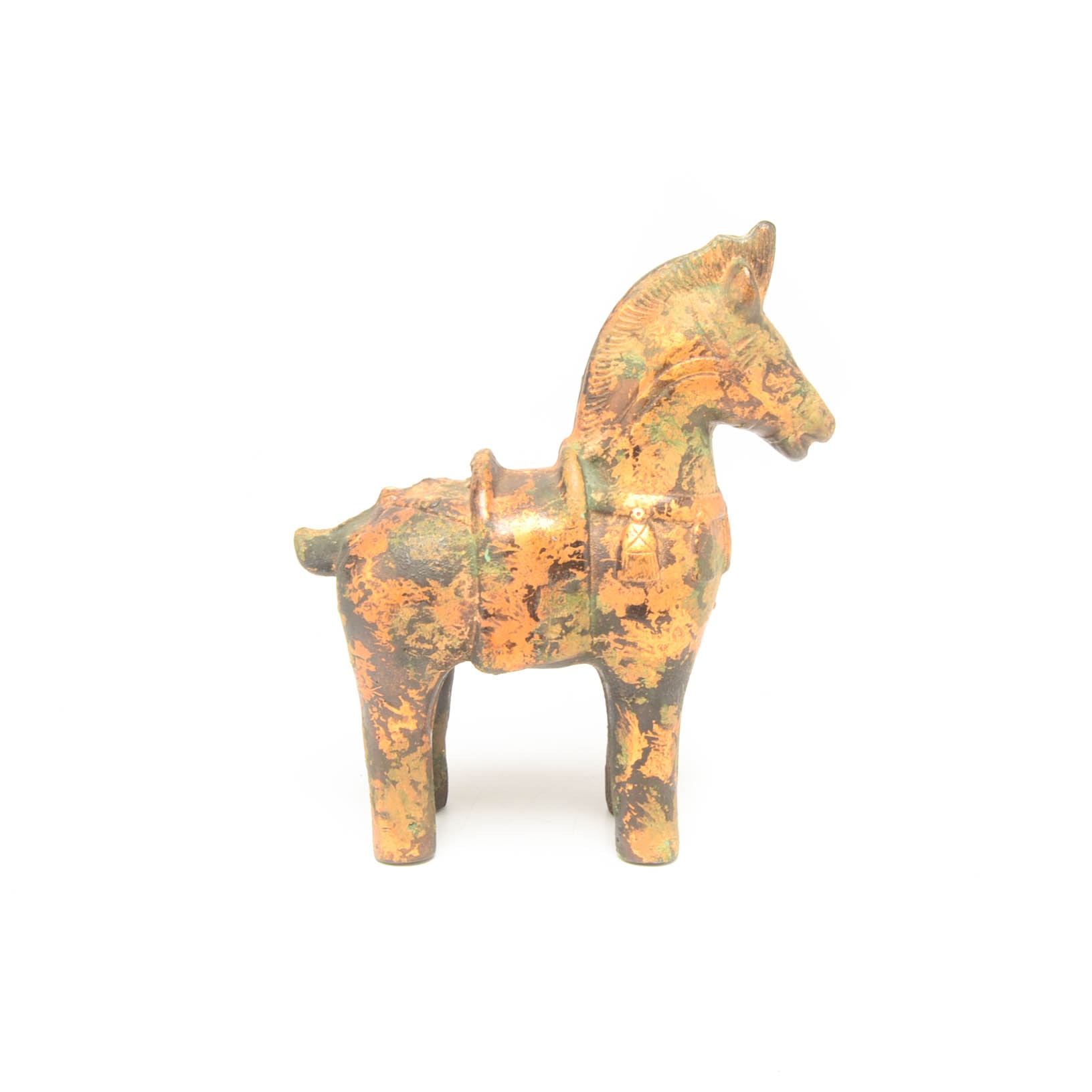 Decorative Japanese Horse Metal Statue