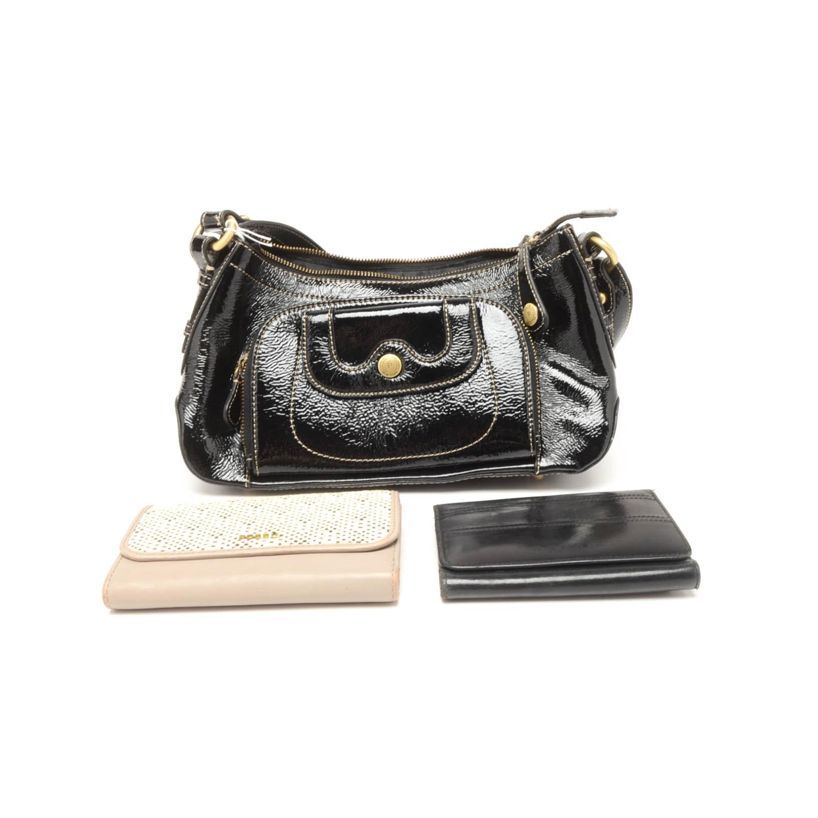 Designer Handbag and Wallets by Coach, Perlina, and Tignanello