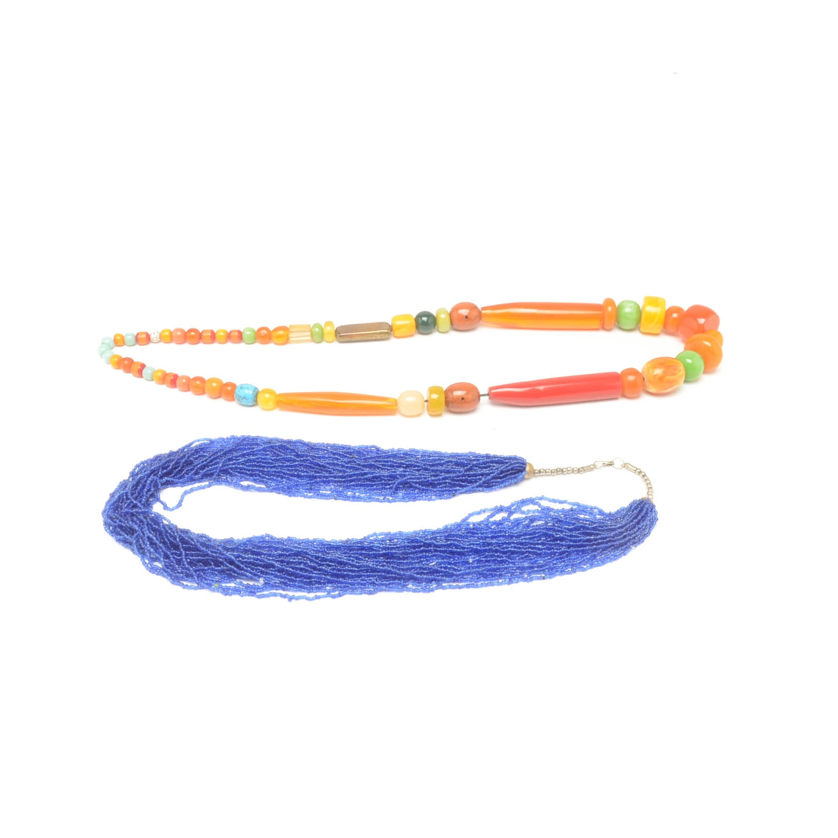 Pairing of Beaded Necklaces