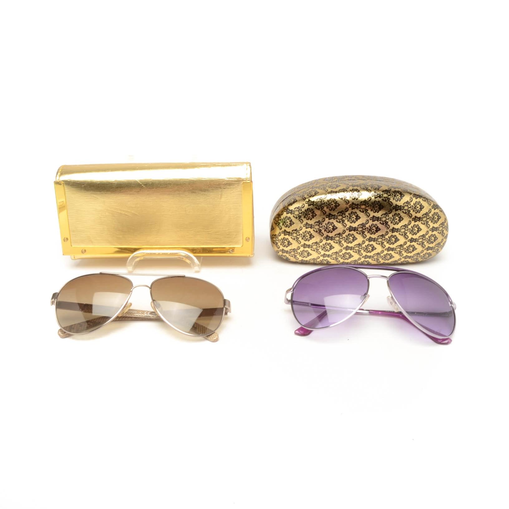 Tory Burch and Andrea Jovine Designer Sunglasses