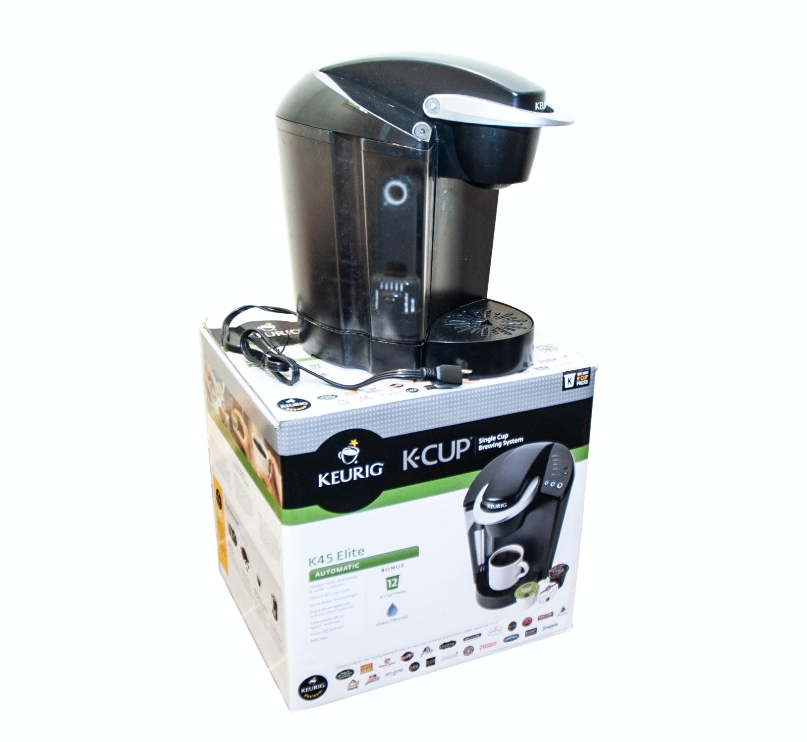 Keurig K45 Elite Single Cup Coffee Brewer