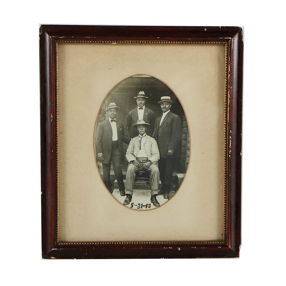 Gelatin-Silver Photograph of Men