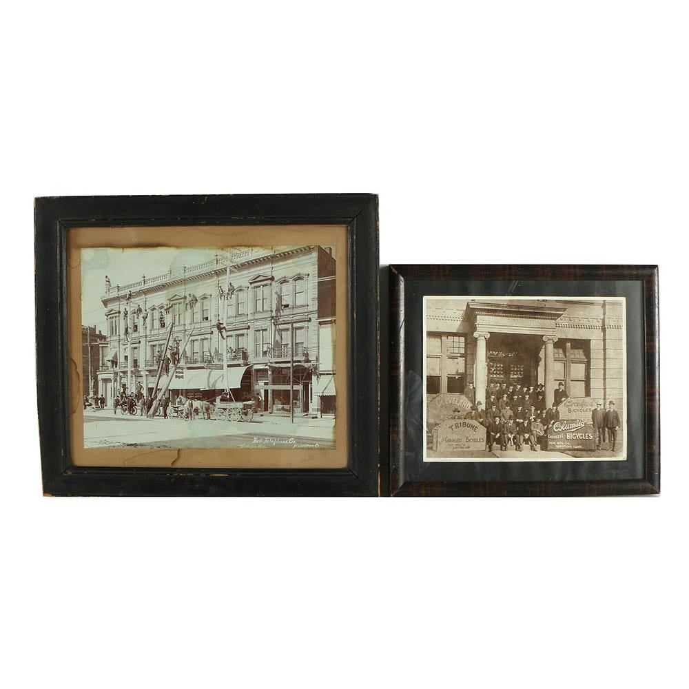 Late 19th Century Albumen Photographs