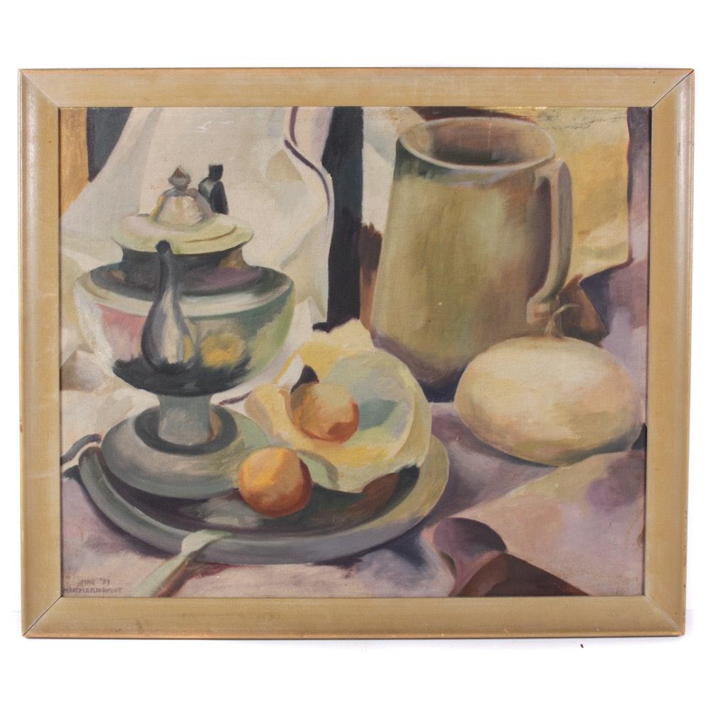 Hammerschmidt Still Life Oil Painting