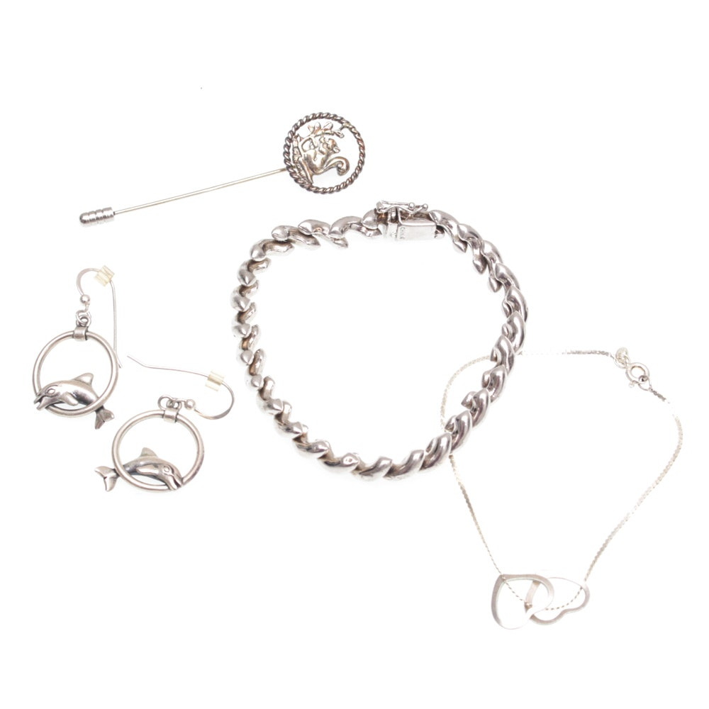 Sterling Silver Jewelry Featuring James Geddy