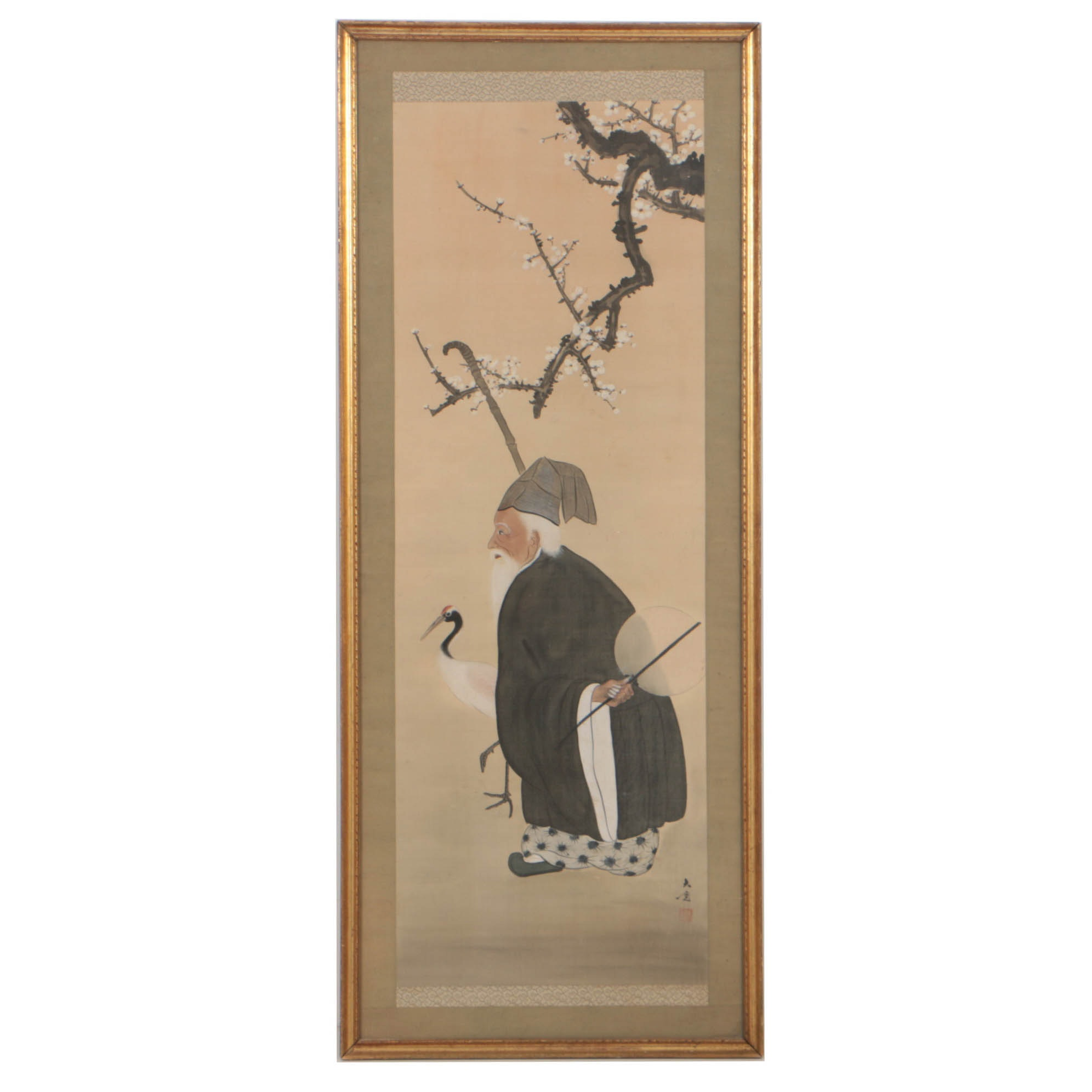 19th Century Chinese Scroll Painting