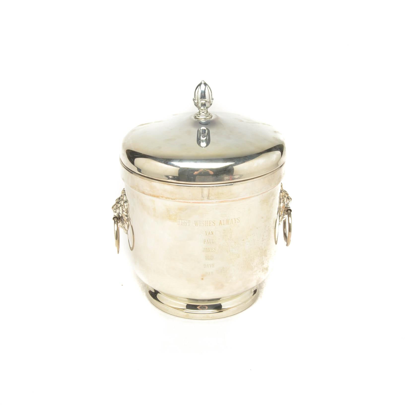 FB Rogers Cawood Ledford Presentation Ice Bucket