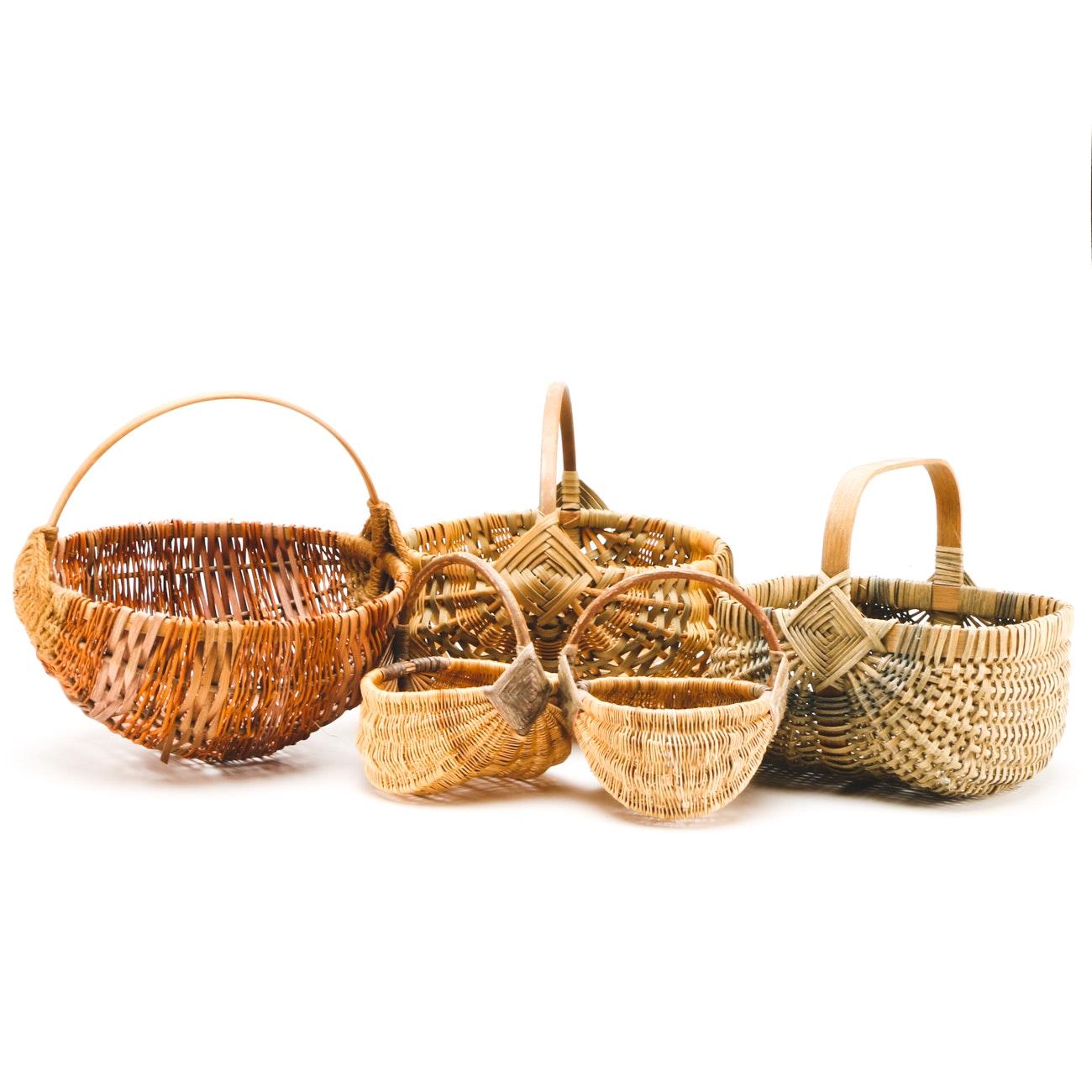 Woven Egg Baskets