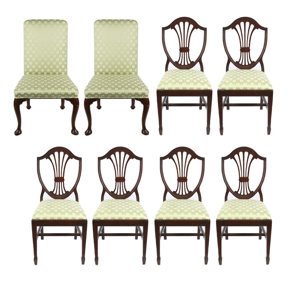Hepplewhite Style Dining Chairs