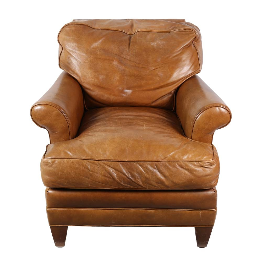 Leather Armchair by Lee Industries